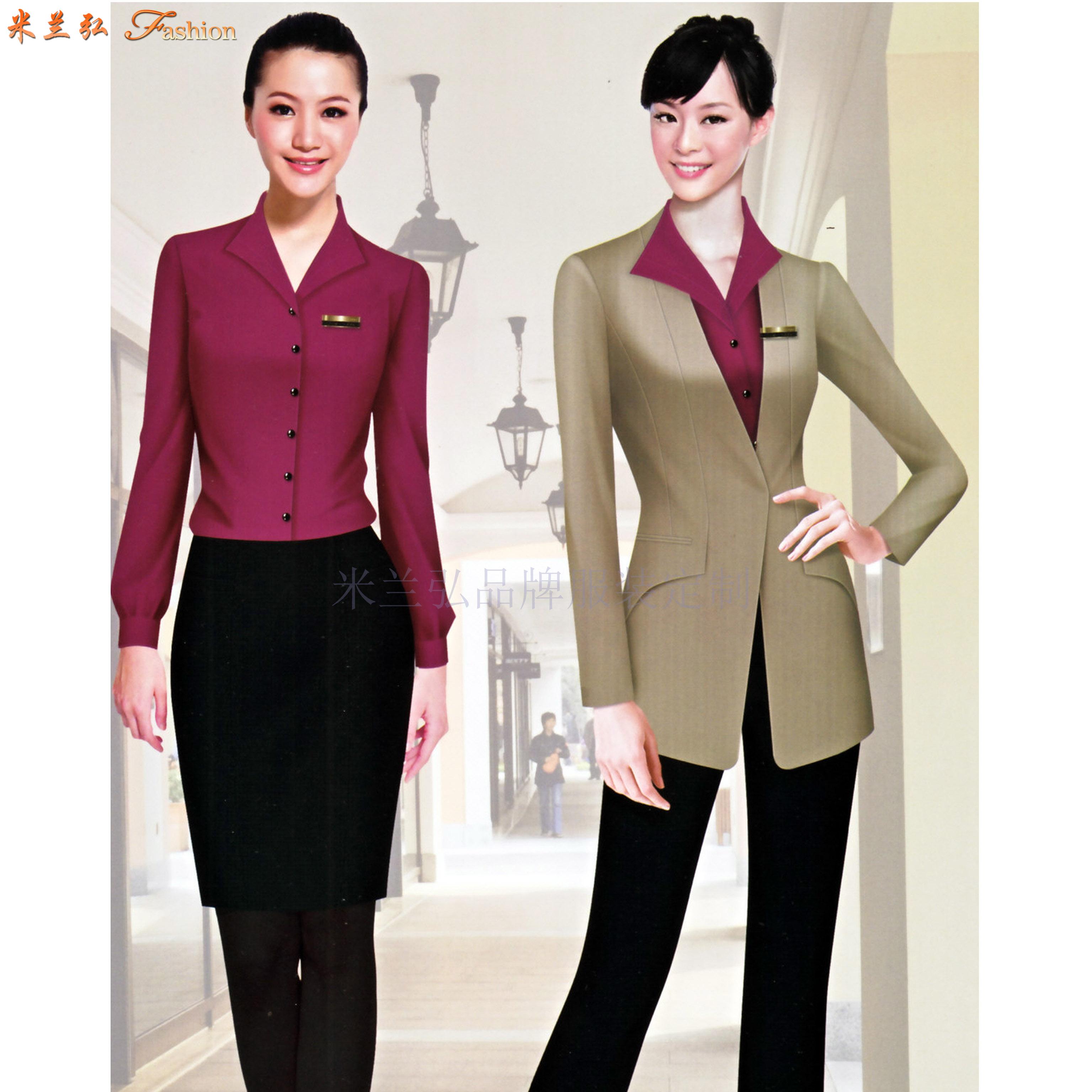 廣東職業裝定做-新穎潮流職業裝訂制-米蘭弘服裝-1