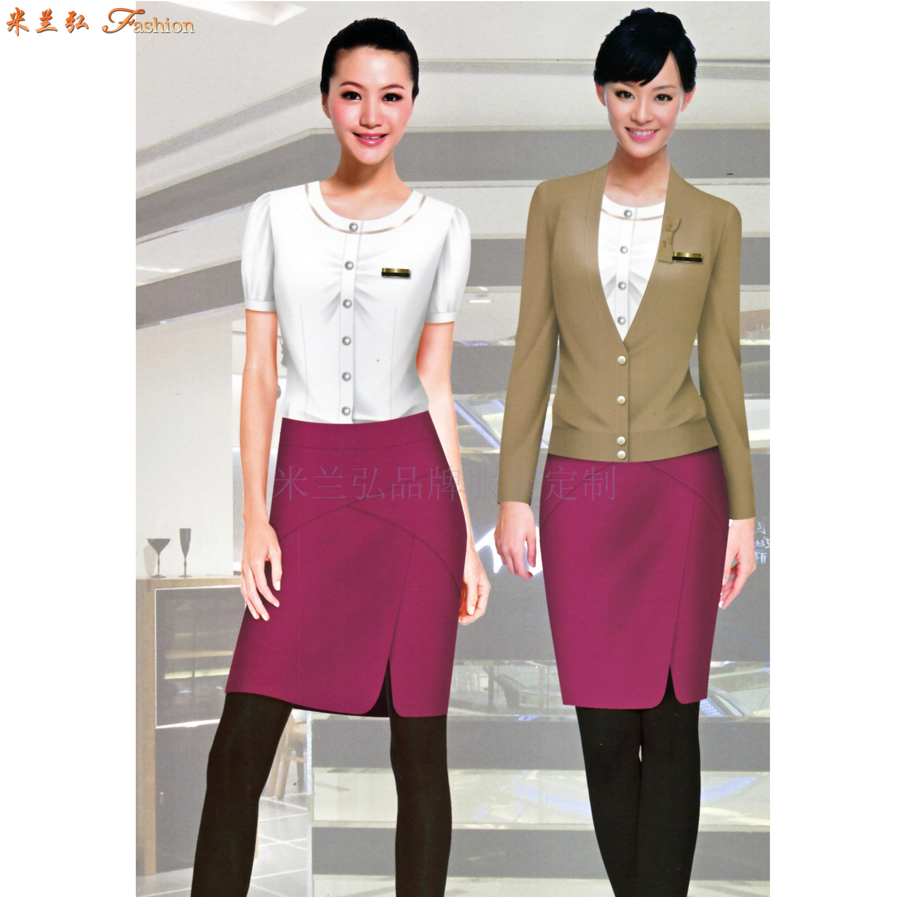 廣東職業裝定做-新穎潮流職業裝訂制-米蘭弘服裝-3