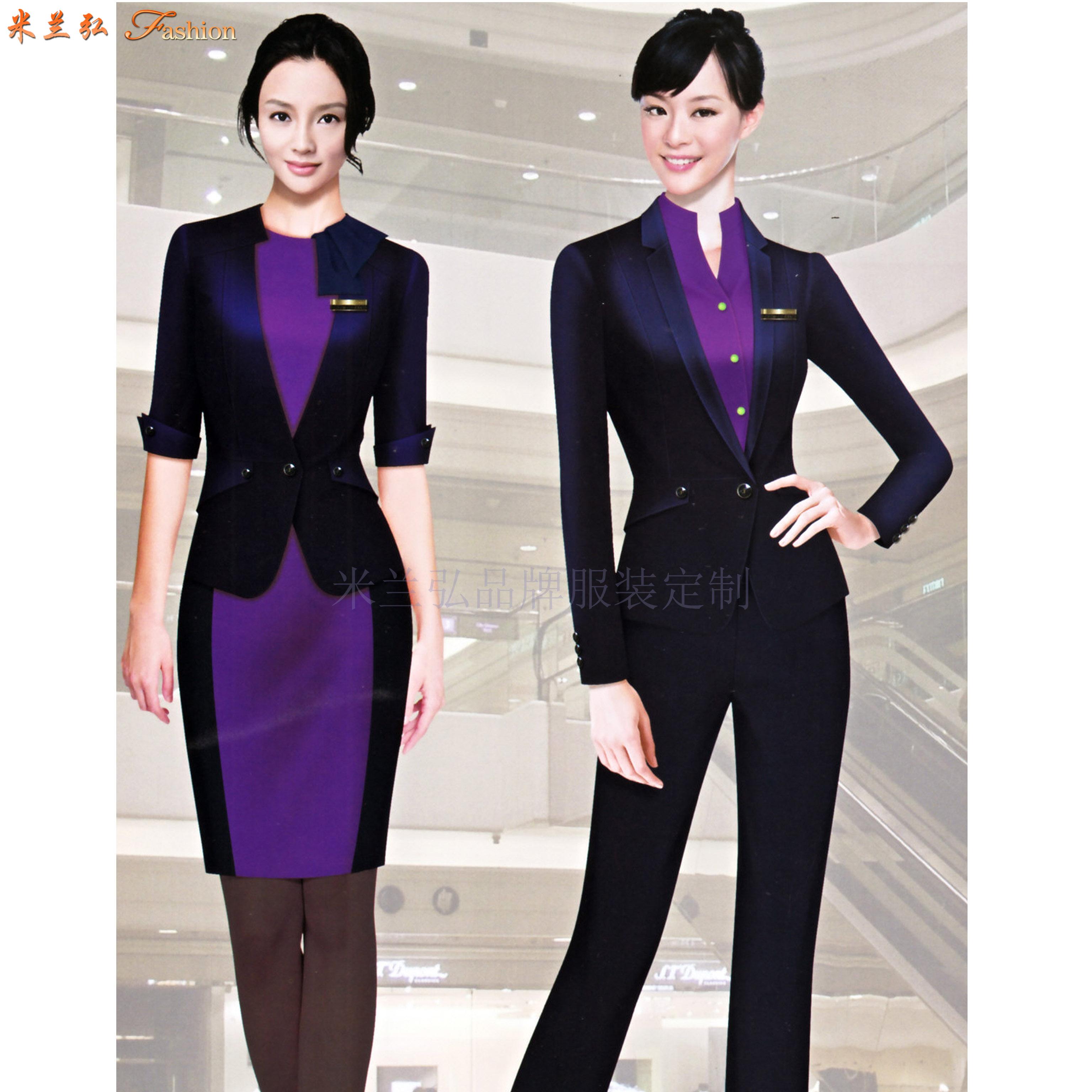 廣東職業裝定做-新穎潮流職業裝訂制-米蘭弘服裝-5