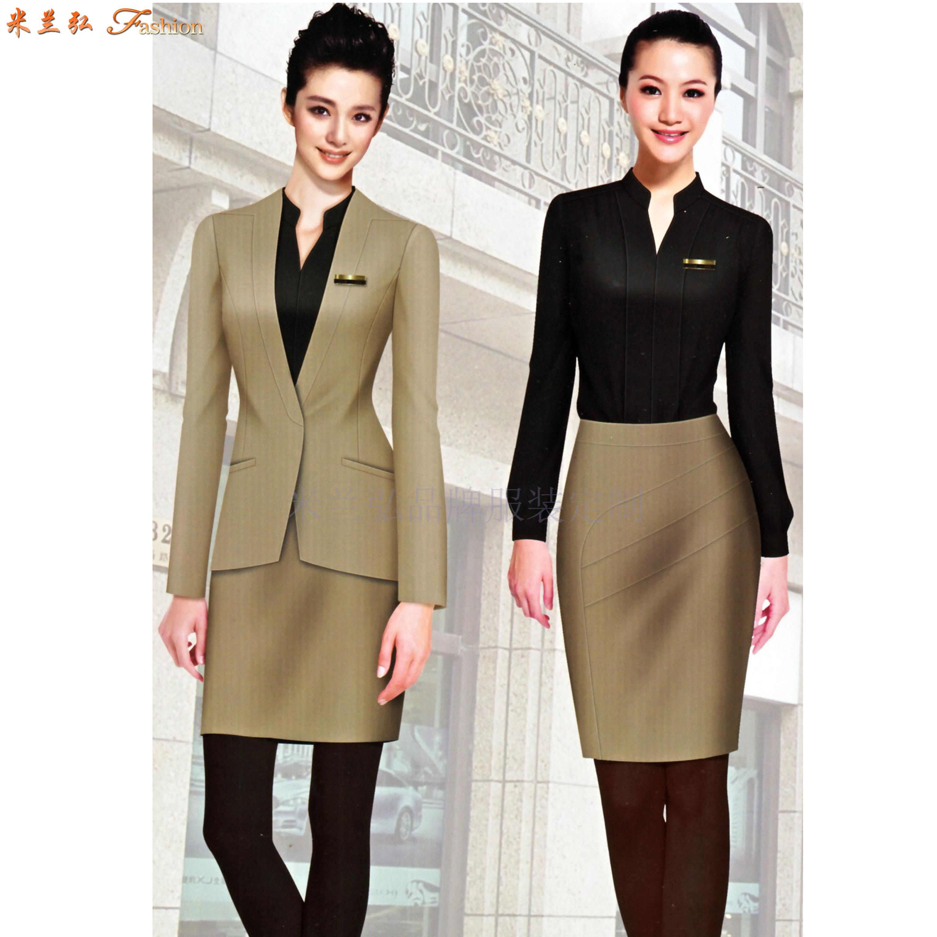 小西服定做-訂制潮流時尚女式小西服-米蘭弘服裝-5