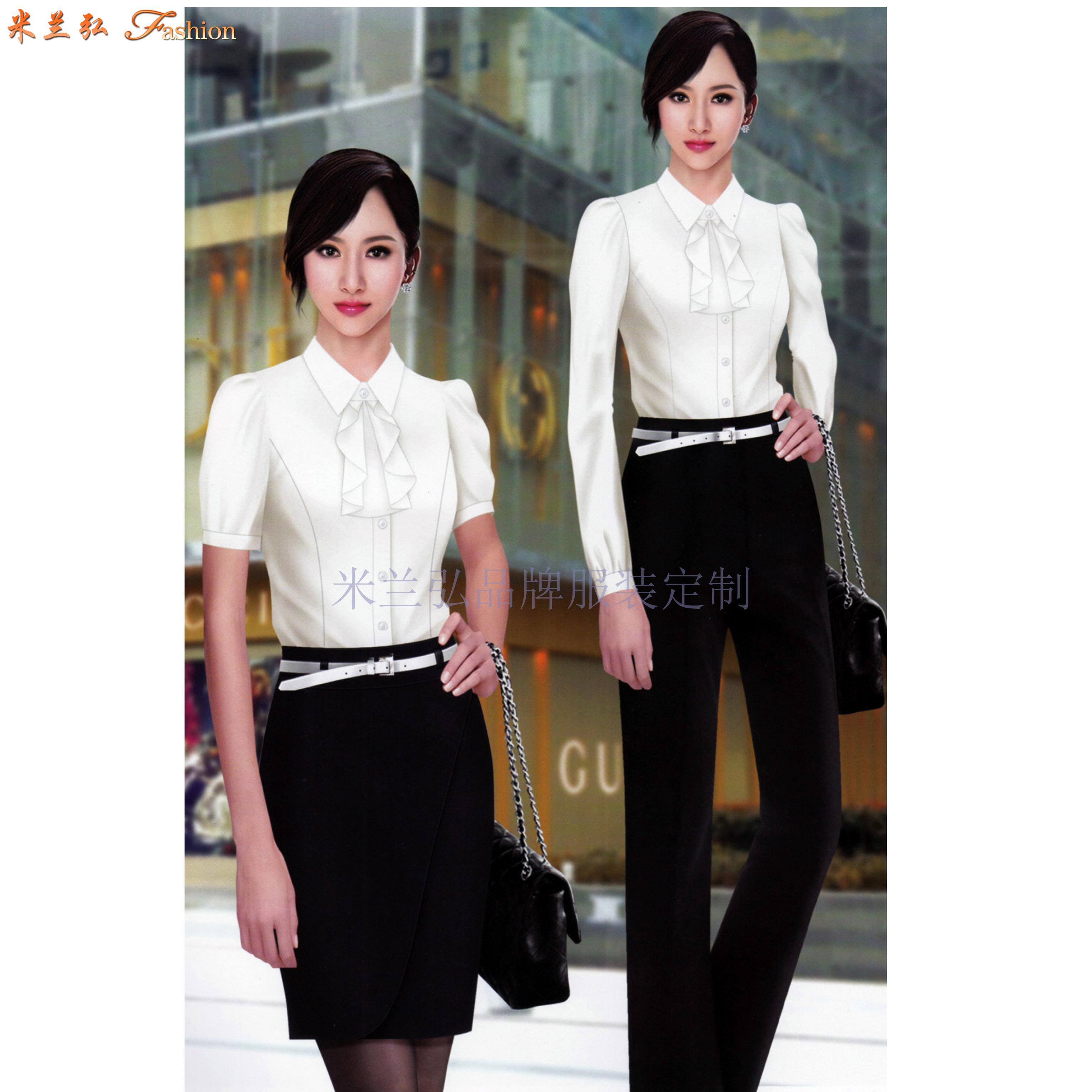 高端襯衫定制-定做質料講究高級襯衫-米蘭弘服裝-2