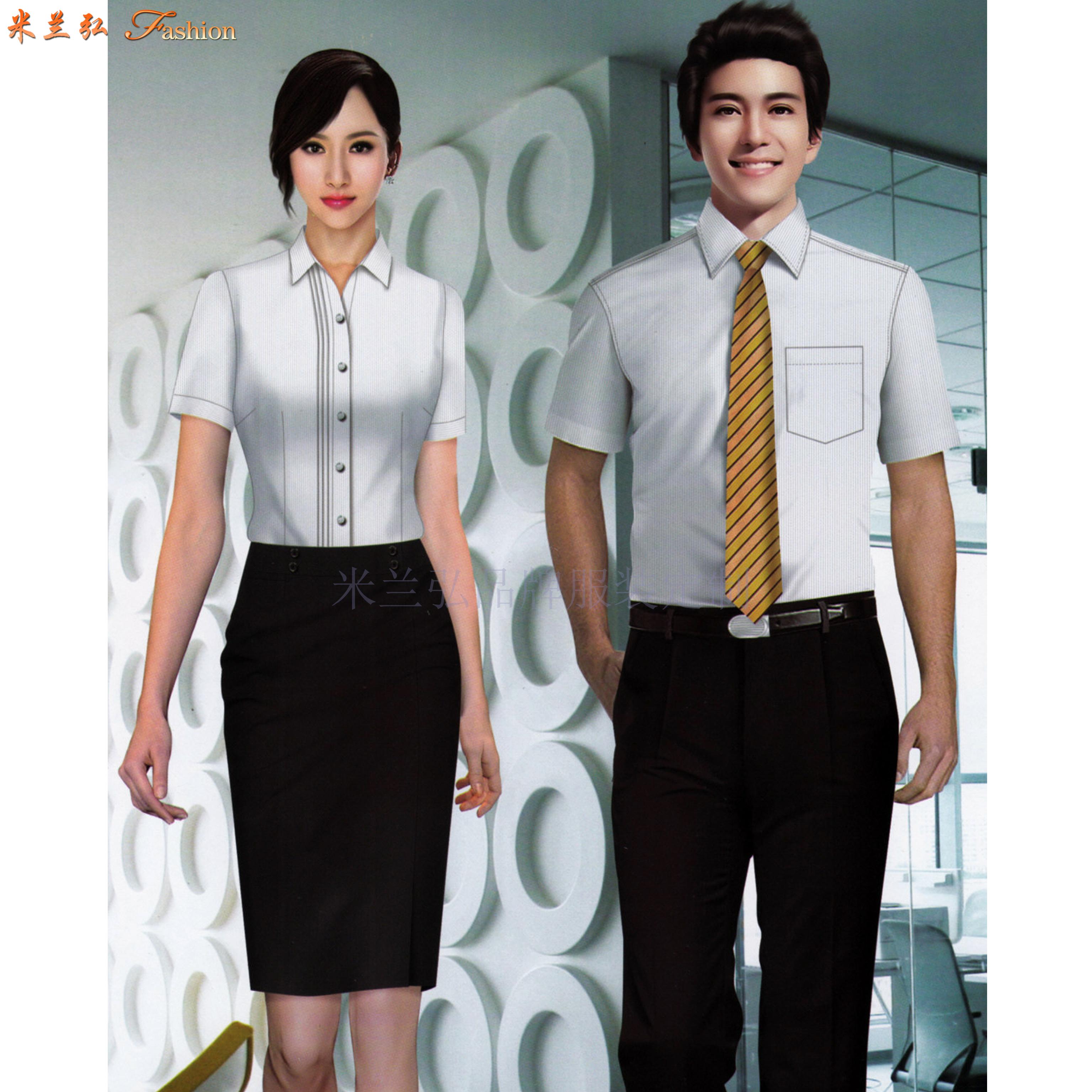高端襯衫定制-定做質料講究高級襯衫-米蘭弘服裝-4
