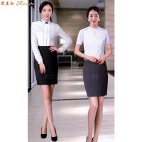 女士職業裝白襯衫-定做女式長袖白色襯衫-米蘭弘服裝-4