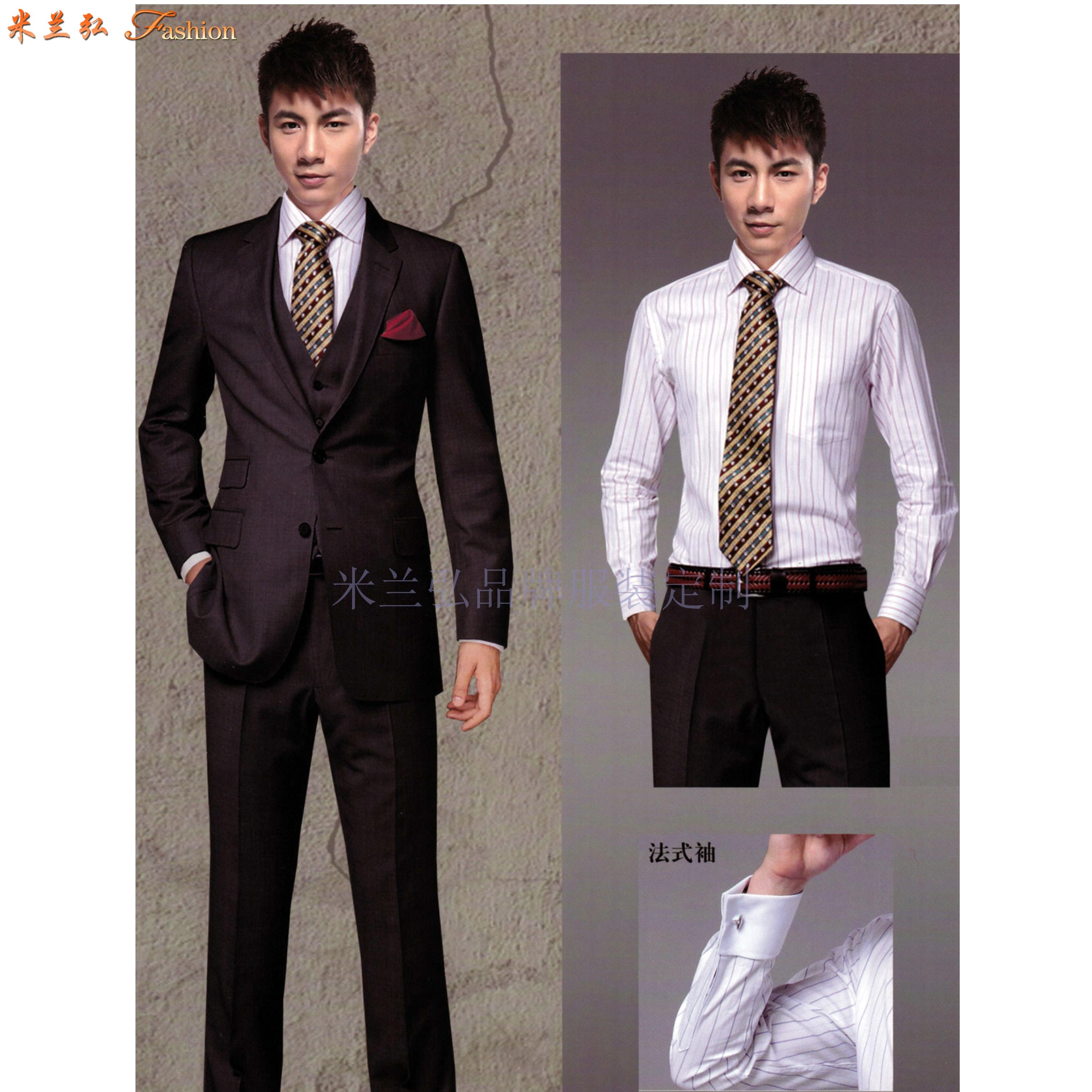 男西服定制-訂制英倫時尚男士西服-米蘭弘服裝-5