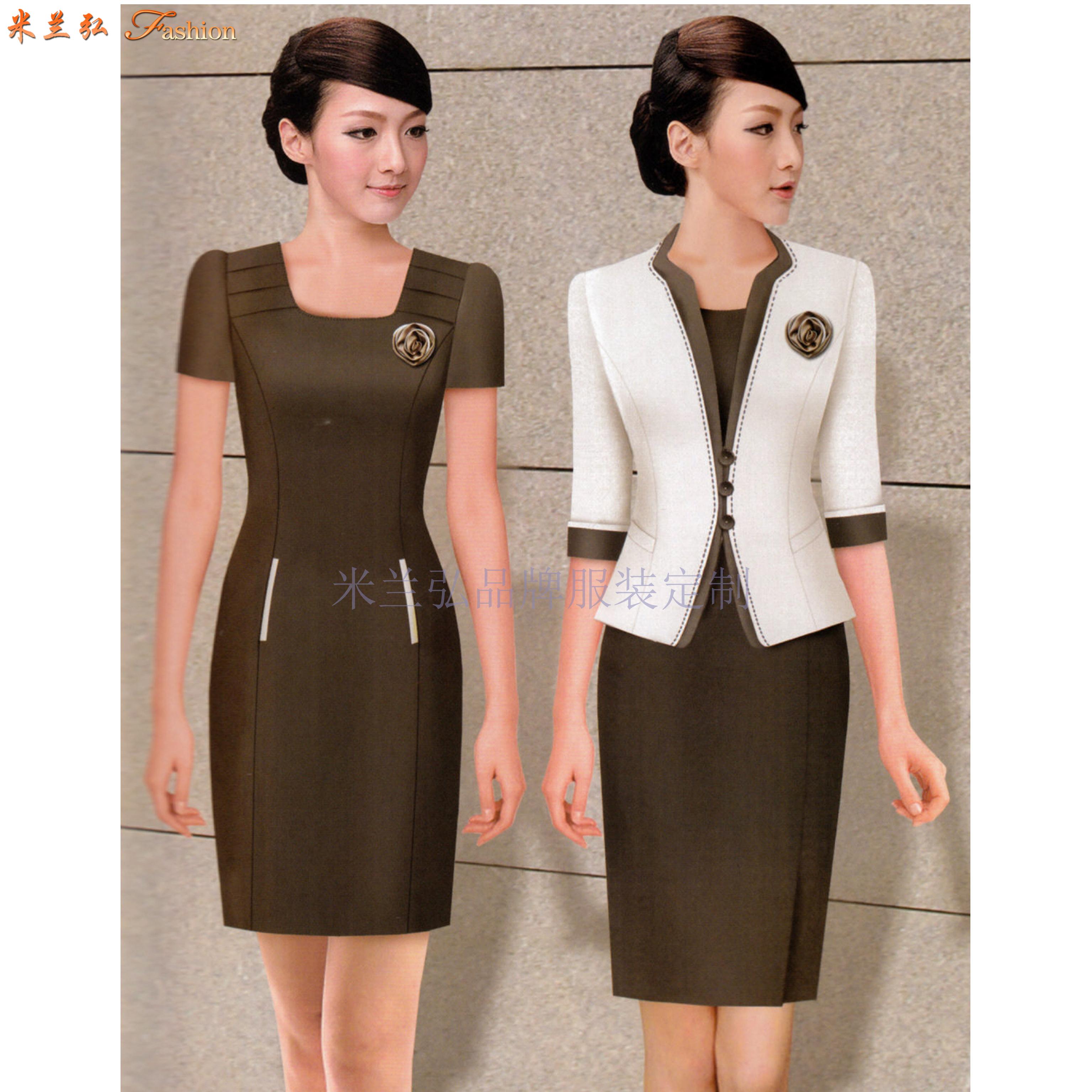 職業裝高檔連衣裙公司-國內職業裝品牌-米蘭弘服裝-3