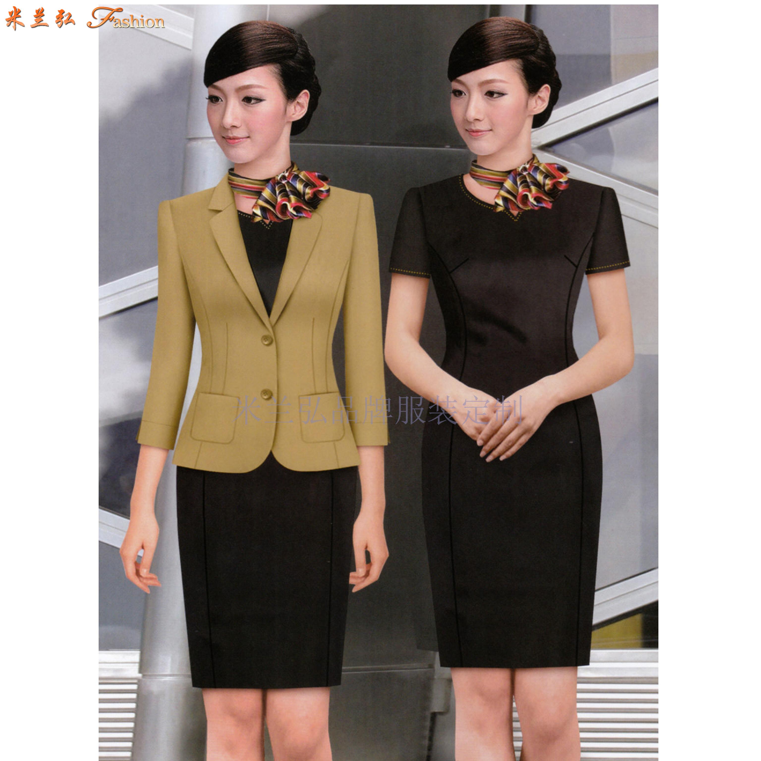 職業裝高檔連衣裙公司-國內職業裝品牌-米蘭弘服裝-4