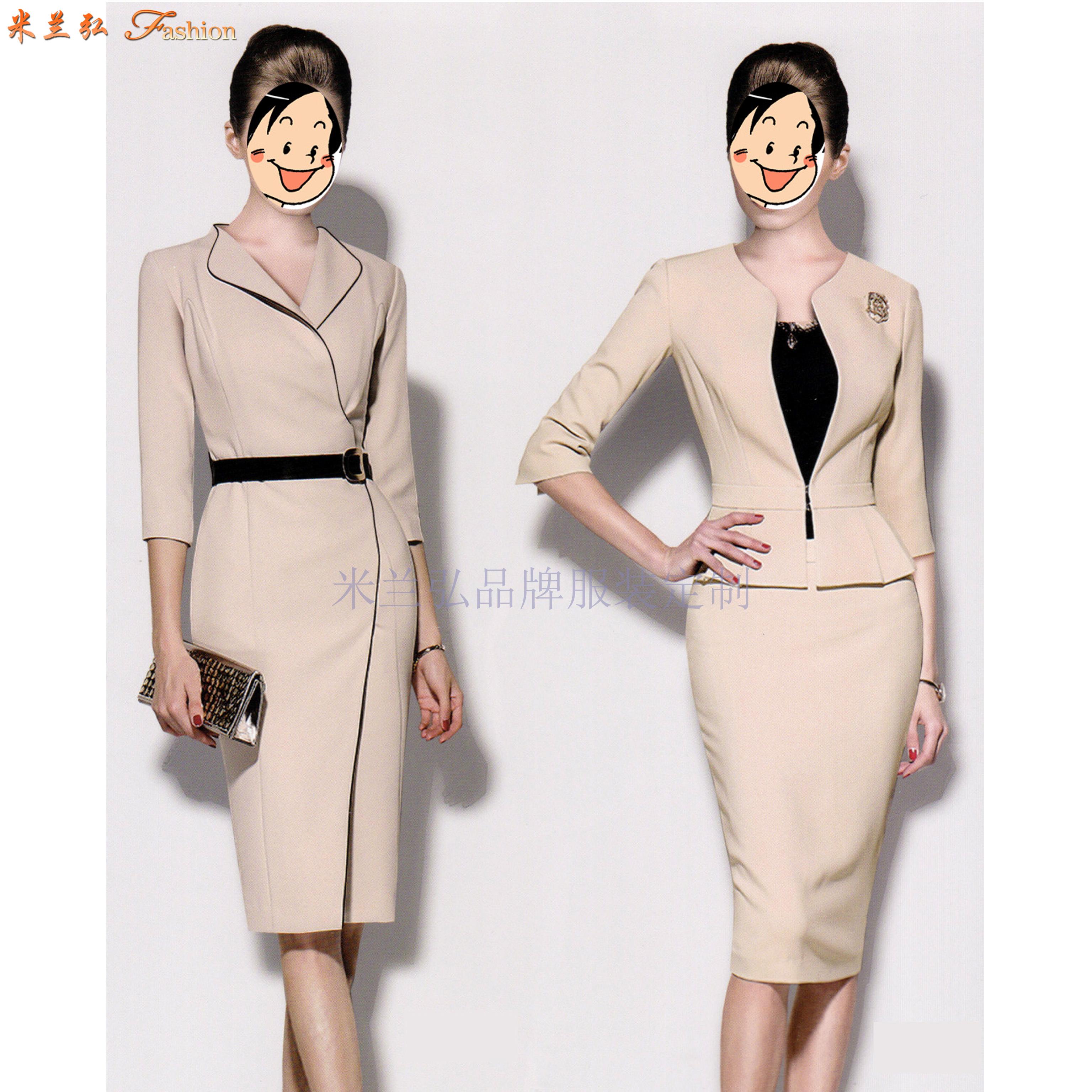 職業裝高檔連衣裙公司-國內職業裝品牌-米蘭弘服裝-1