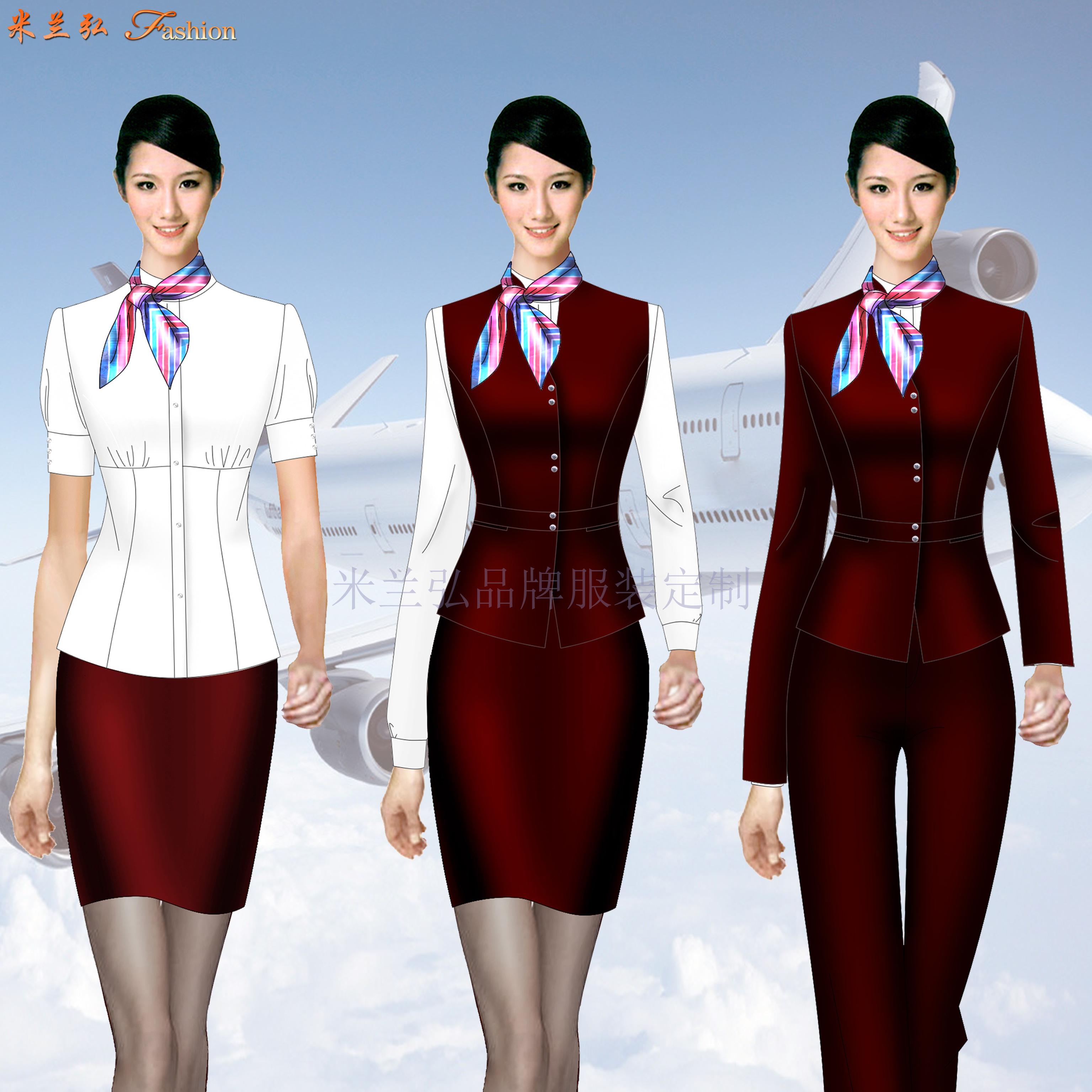 醫護職業裝定做-導醫職業裝-米蘭弘服裝-4