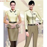 價格合理的職業裝定制-好看的女士職業裝圖片-米蘭弘服裝-4