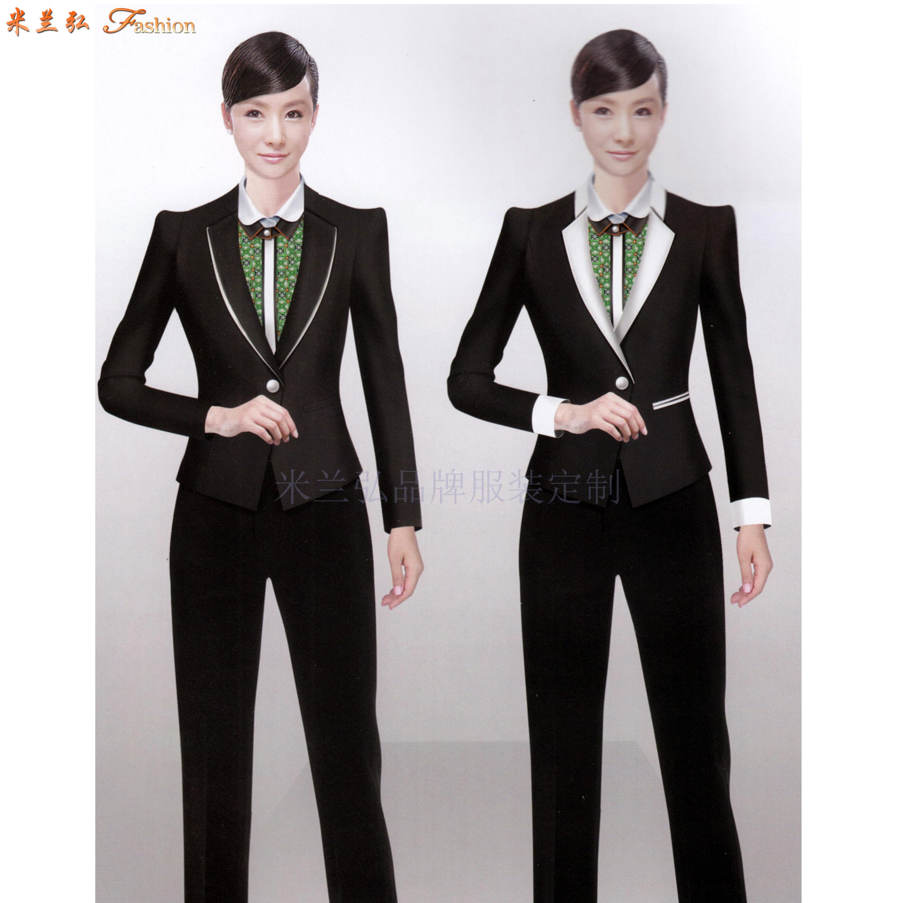 教師職業裝新款女裝圖片-院校員工職業裝-米蘭弘服裝-4