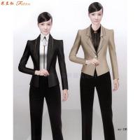 教師職業裝新款女裝圖片-院校員工職業裝-米蘭弘服裝-5