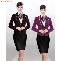 教師職業裝新款女裝圖片-院校員工職業裝-米蘭弘服裝-1