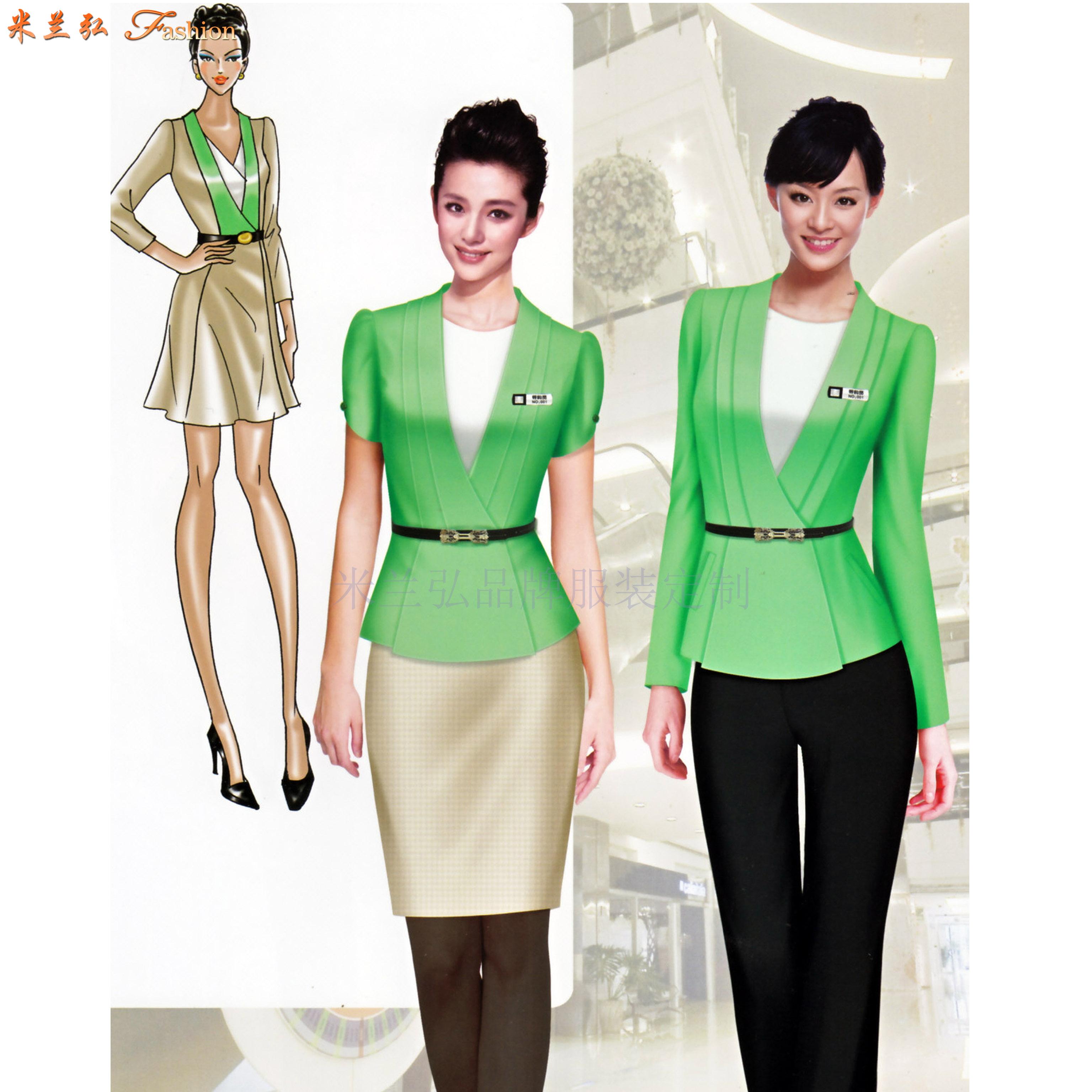 職業裝女裝西裝-白領職業裝女裝套裝-米蘭弘服裝-2