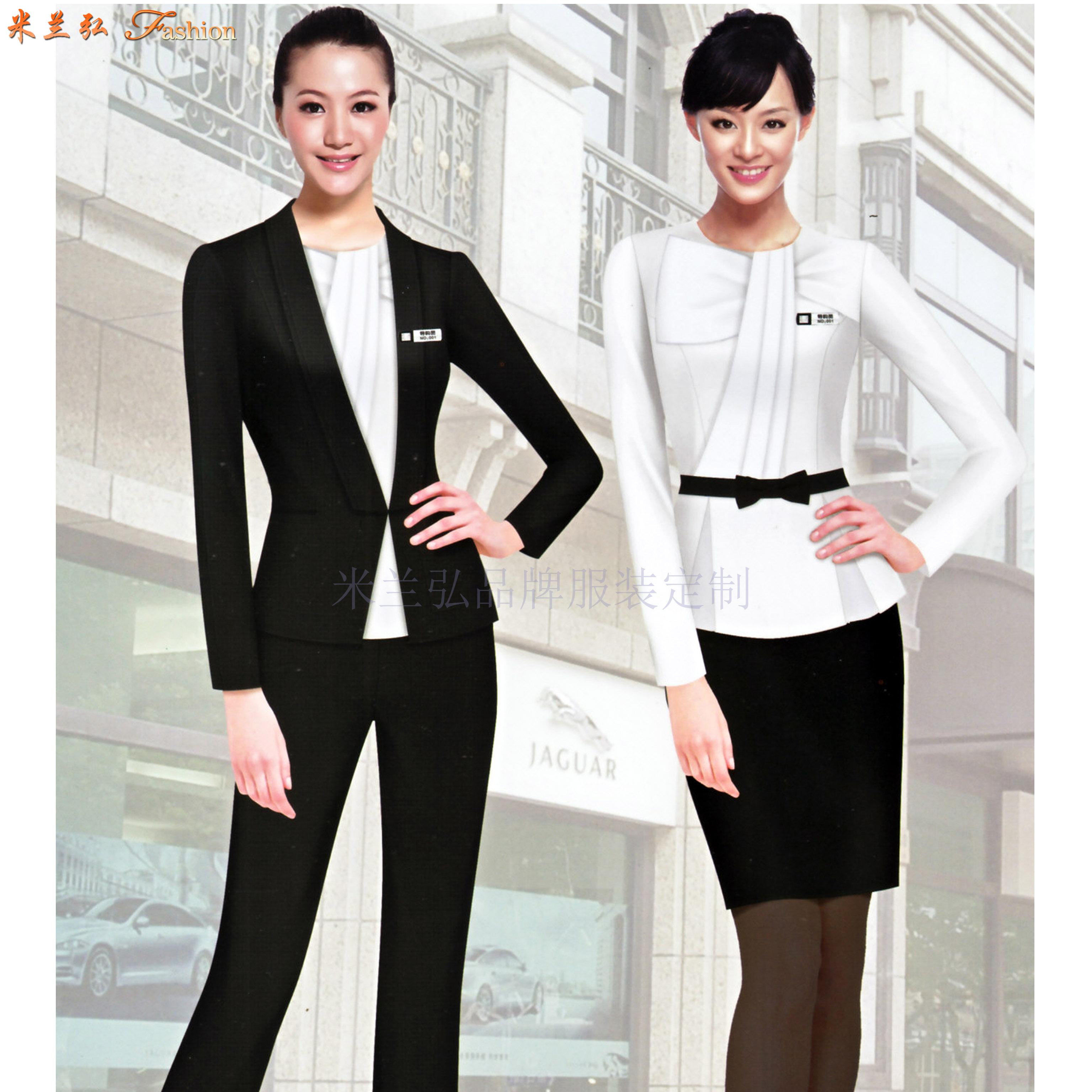 四川職業裝定做-職業正裝訂做廠家-米蘭弘服裝-3