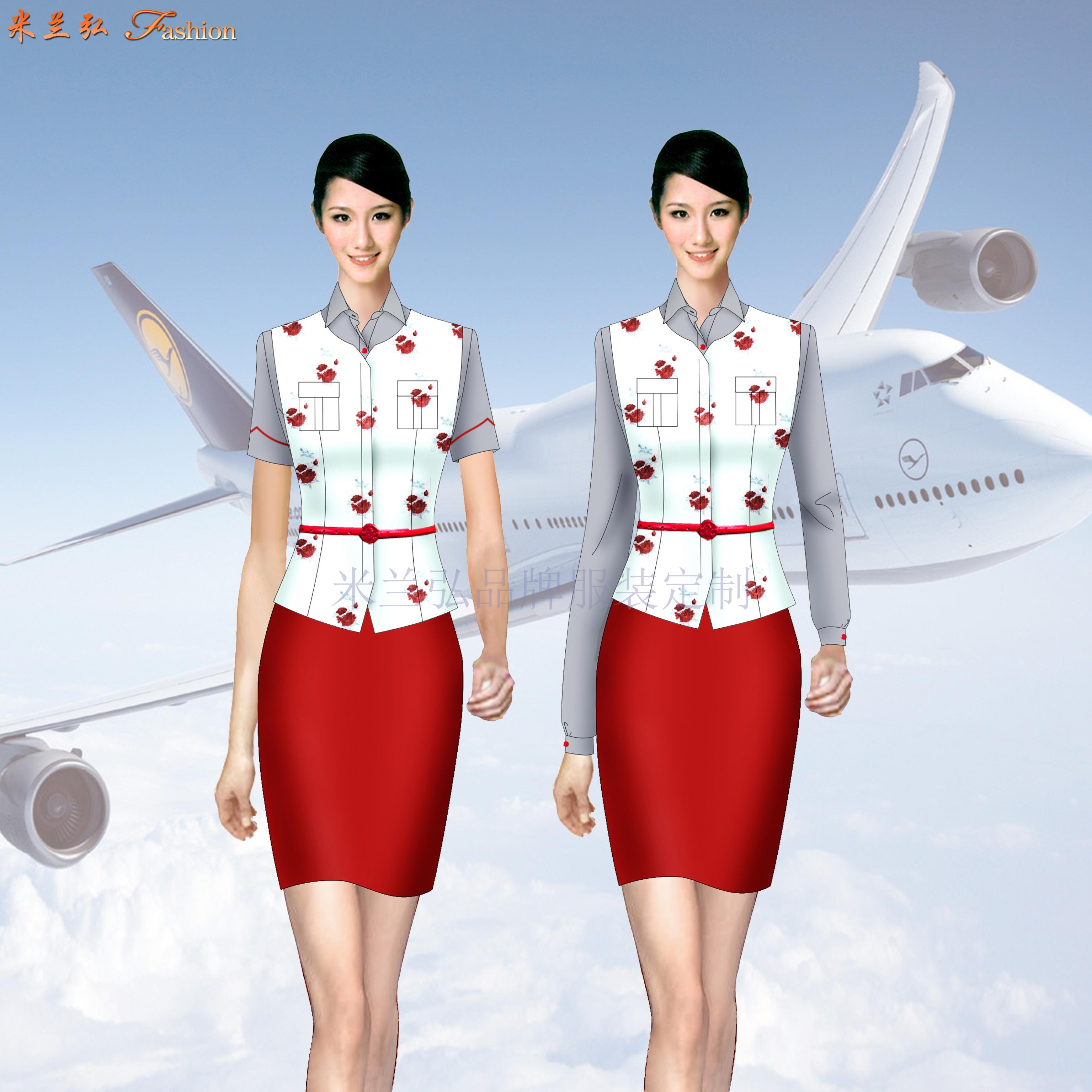 四川空姐服定制-四川空姐服定做價格-米蘭弘服裝-4