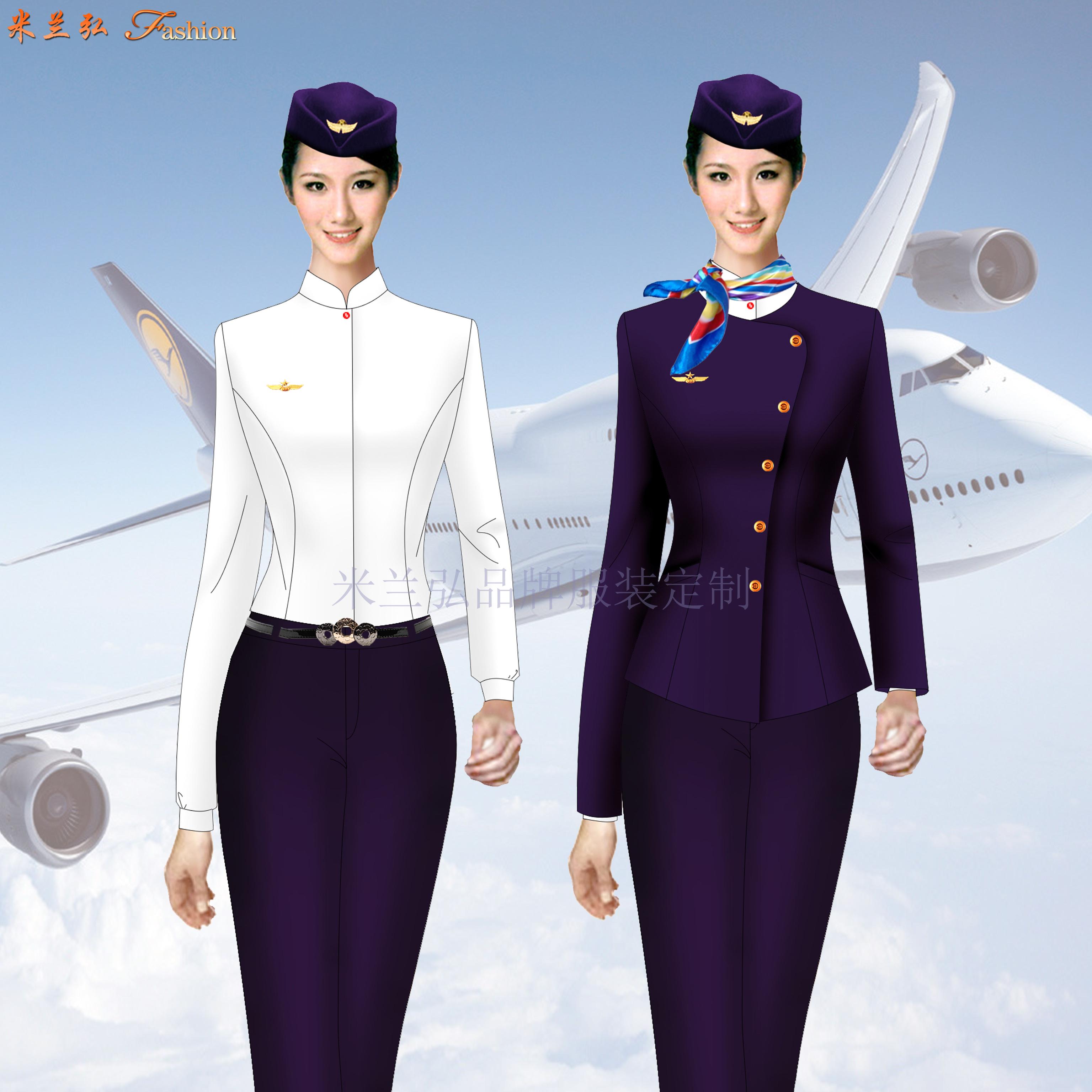 四川空姐服定制-四川空姐服定做價格-米蘭弘服裝-5
