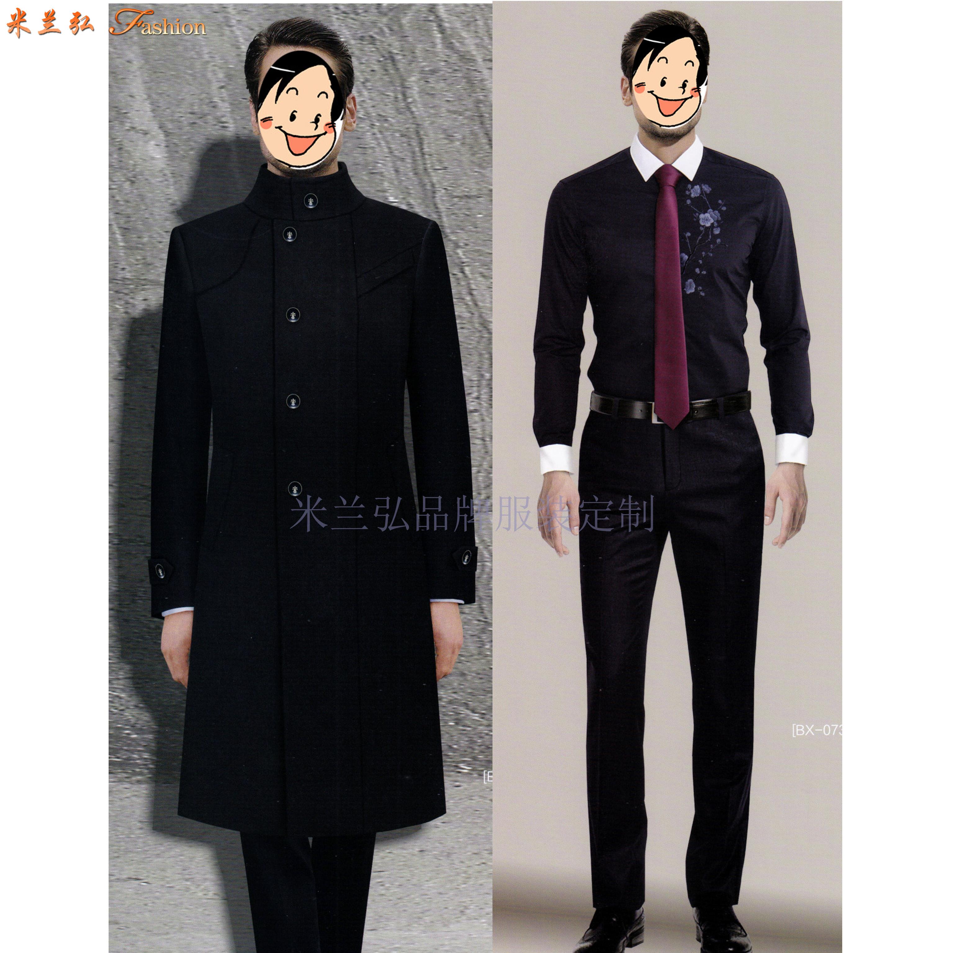四川大衣定制-羊毛呢子大衣定做-米蘭弘服裝-5