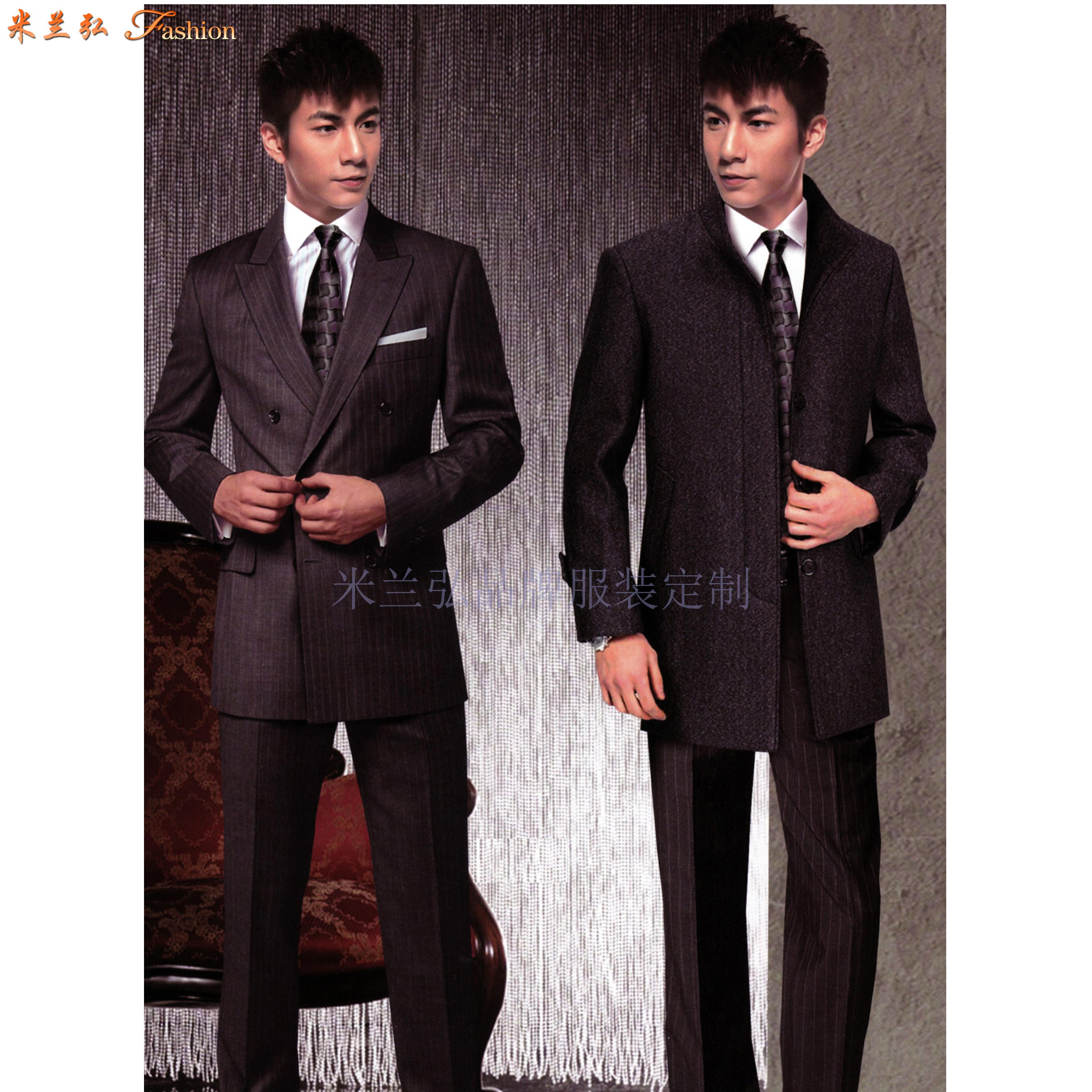 北京西服定制-商務西服訂做價格-米蘭弘服裝-1