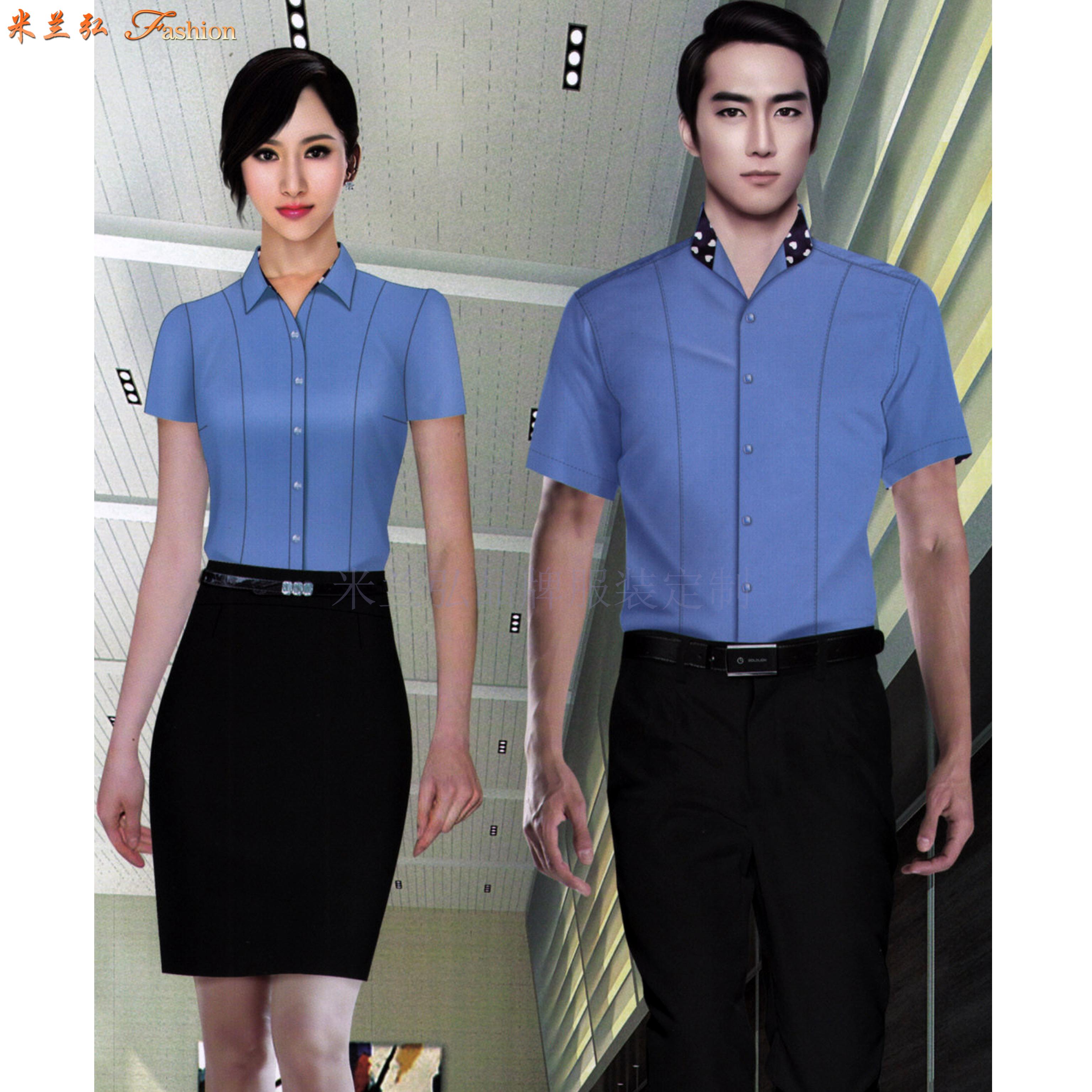 江西定制襯衫-定做免燙襯衫品牌-米蘭弘服裝-4