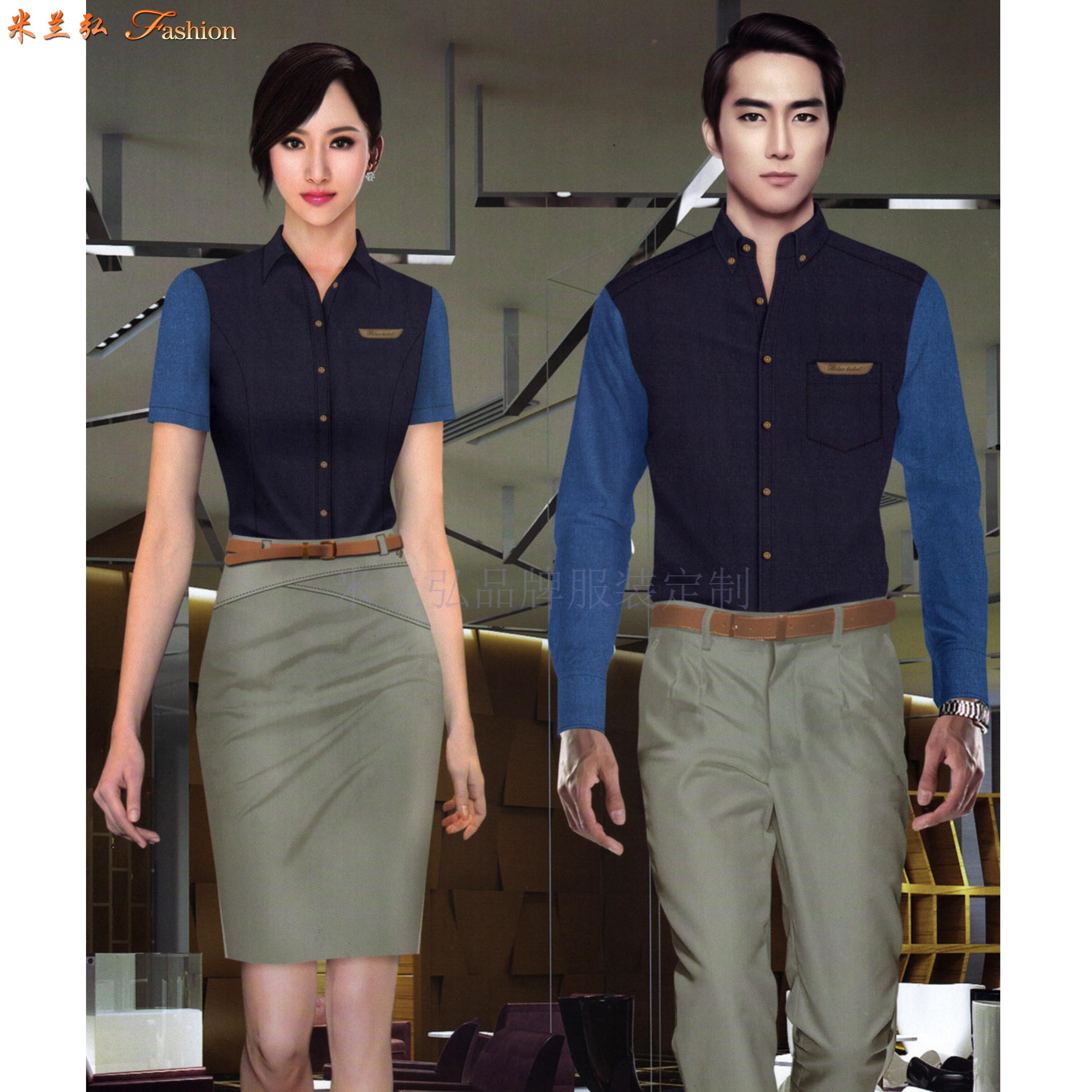 江西定制襯衫-定做免燙襯衫品牌-米蘭弘服裝-1