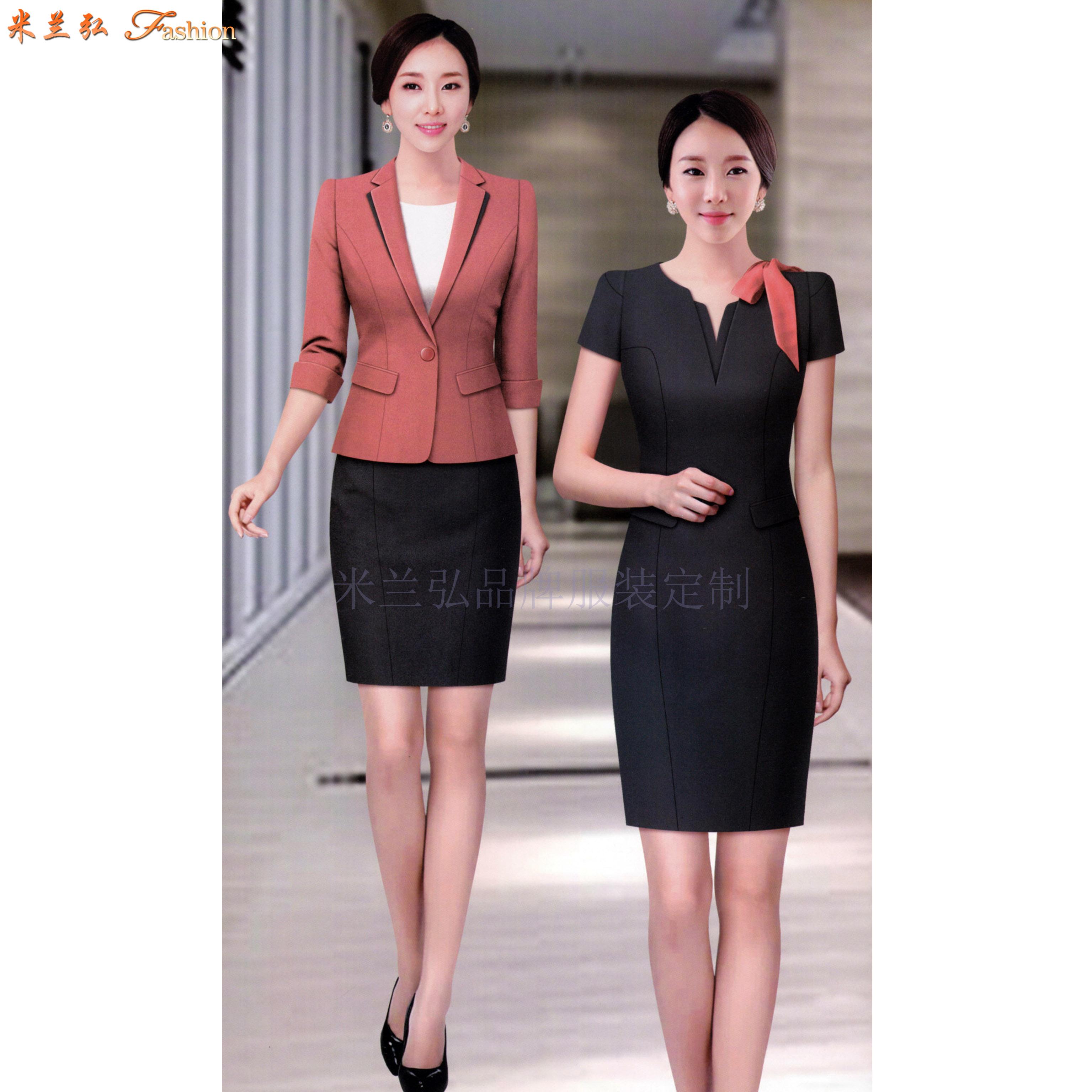江西連衣裙定制-職業連衣裙訂做價錢-米蘭弘服裝-2