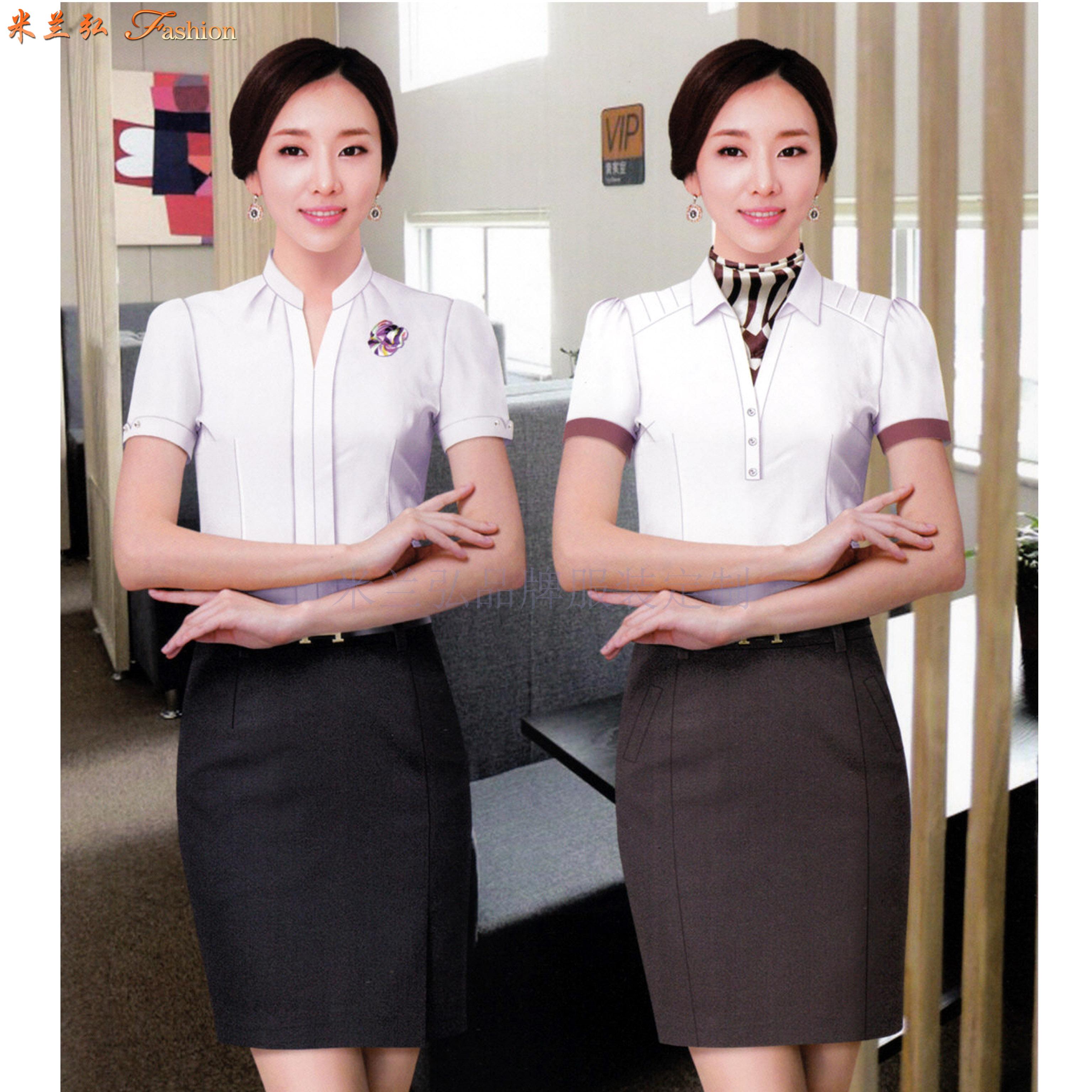 商業銀行襯衫定制_農商銀行襯衫定做品牌-米蘭弘服裝-3