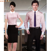 商業銀行襯衫定制_農商銀行襯衫定做品牌-米蘭弘服裝-1