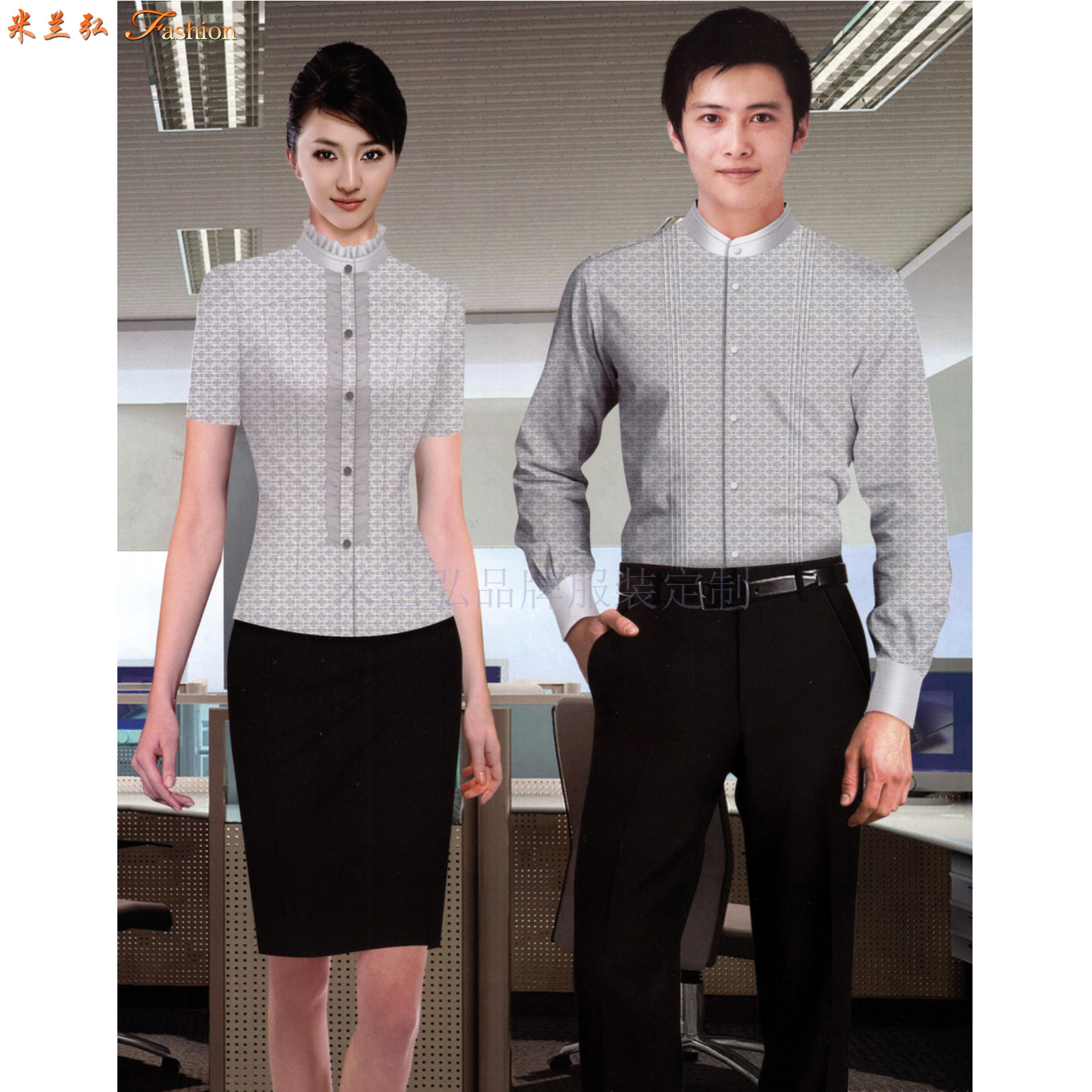 北京襯衫定制_北京襯衫訂做-米蘭弘服裝廠家-2