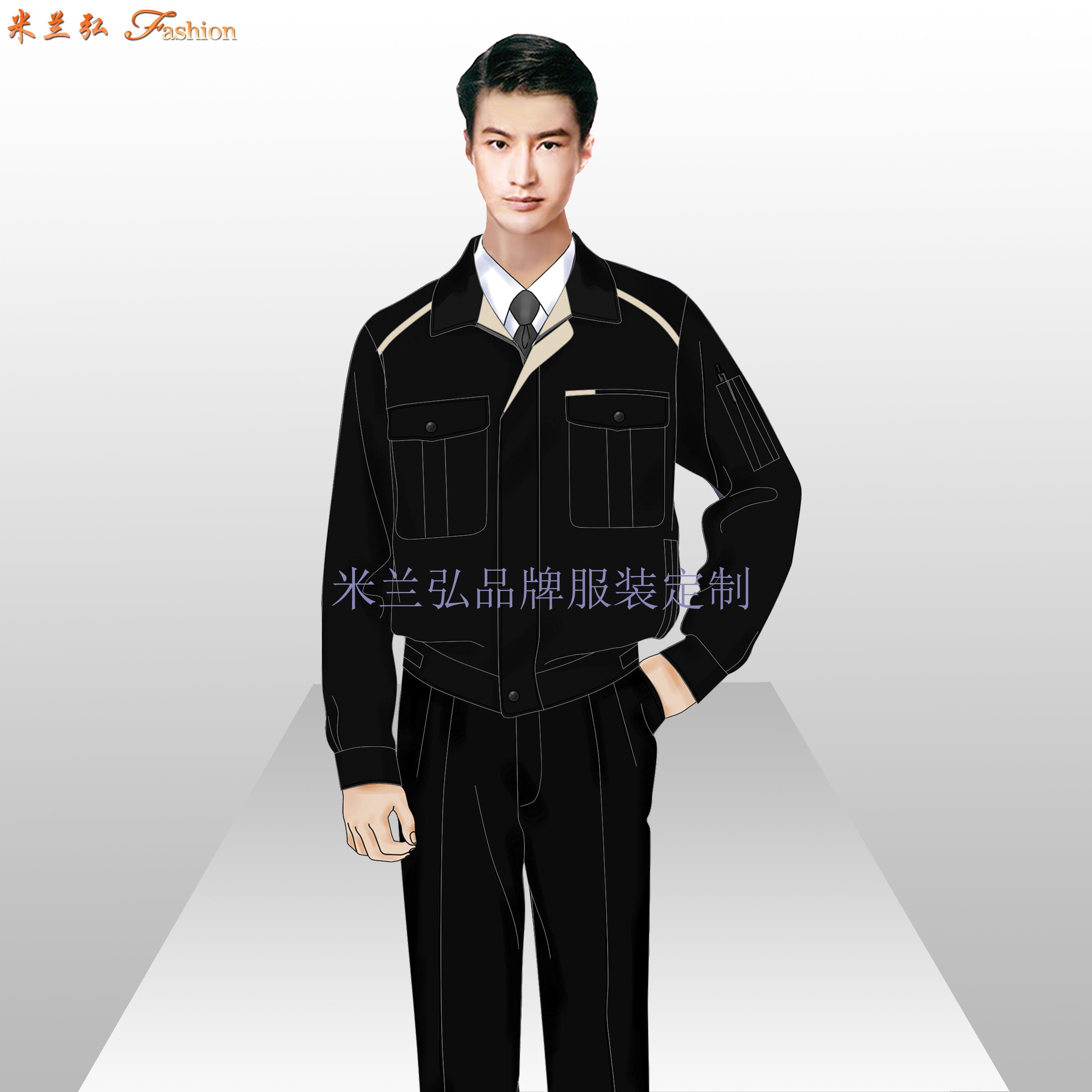 安徽工作服廠家-工作服定做價格圖片-米蘭弘服裝-2