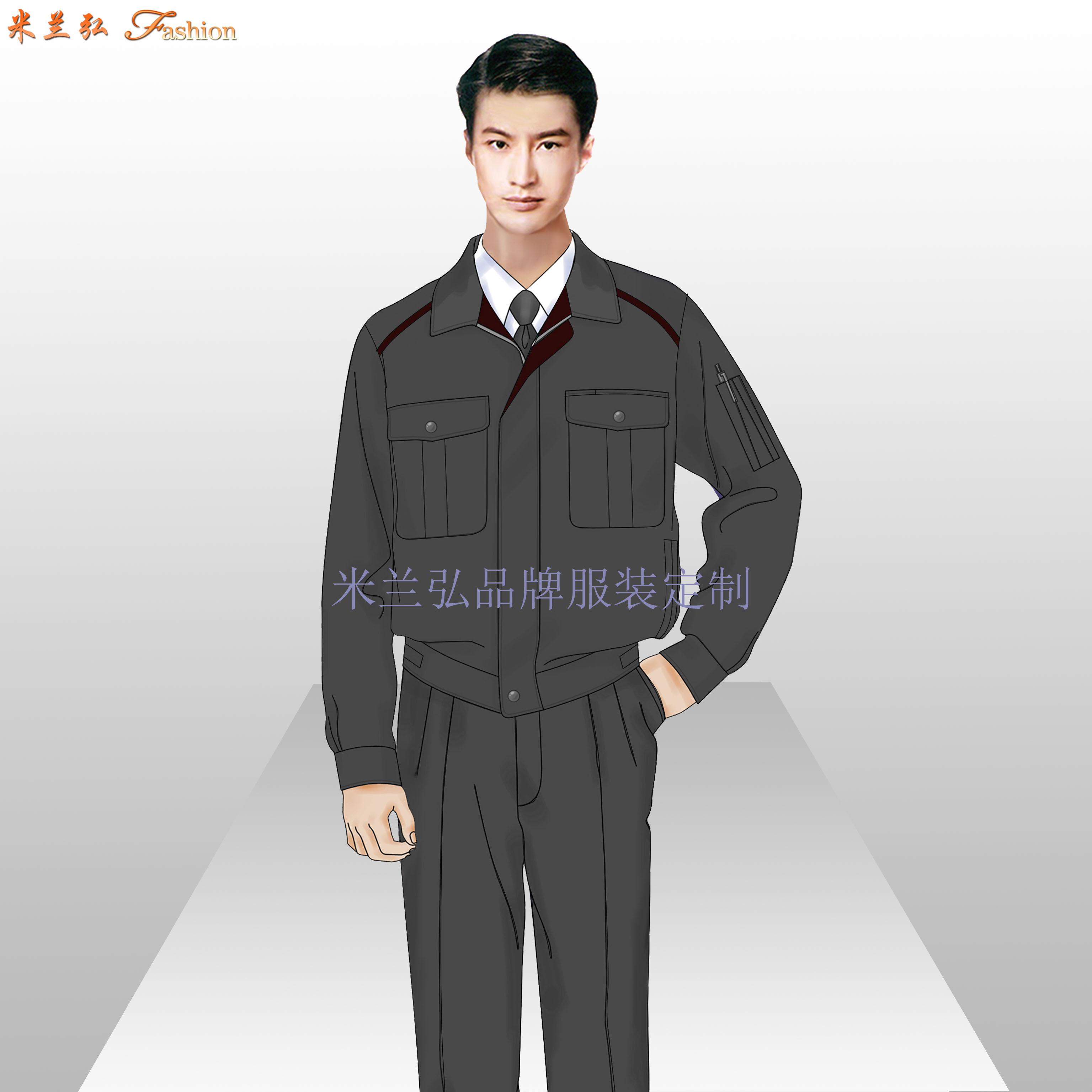 安徽工作服廠家-工作服定做價格圖片-米蘭弘服裝-3