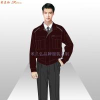 安徽工作服廠家-工作服定做價格圖片-米蘭弘服裝-5