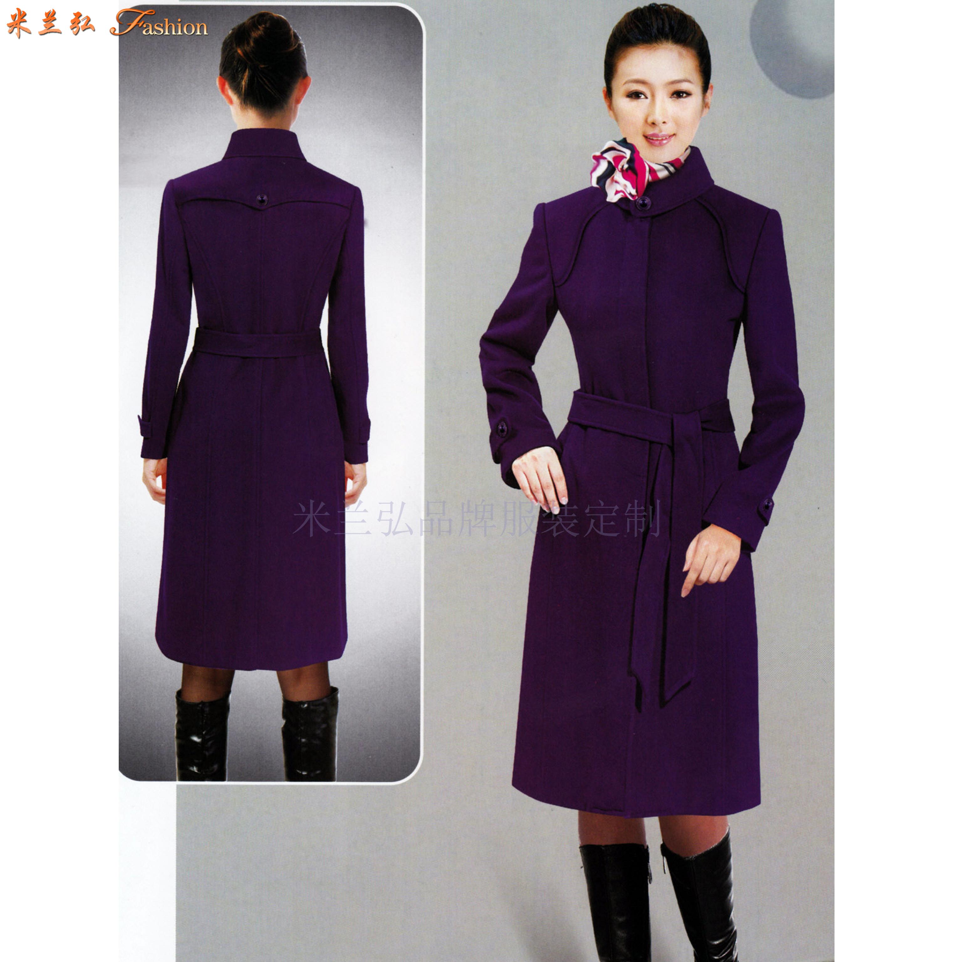 安徽大衣定做-呢子大衣訂做廠家價格-米蘭弘廠家-3