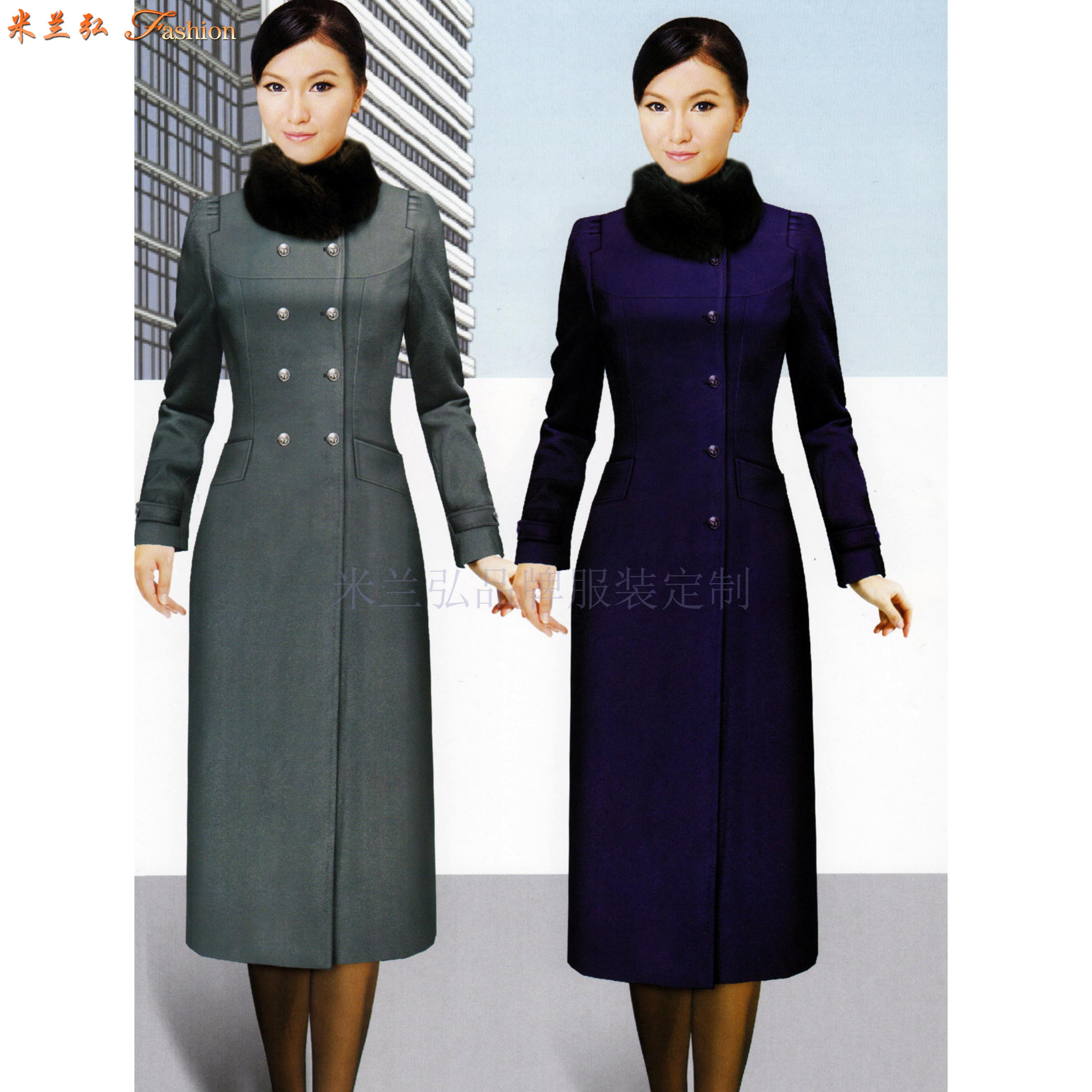 安徽大衣定做-呢子大衣訂做廠家價格-米蘭弘廠家-5