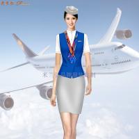 合肥空姐服定制-新橋機場機務服定做-米蘭弘廠家-3