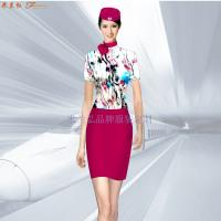 定做空姐服-專業訂制航空公司空姐服-米蘭弘服裝廠家-2