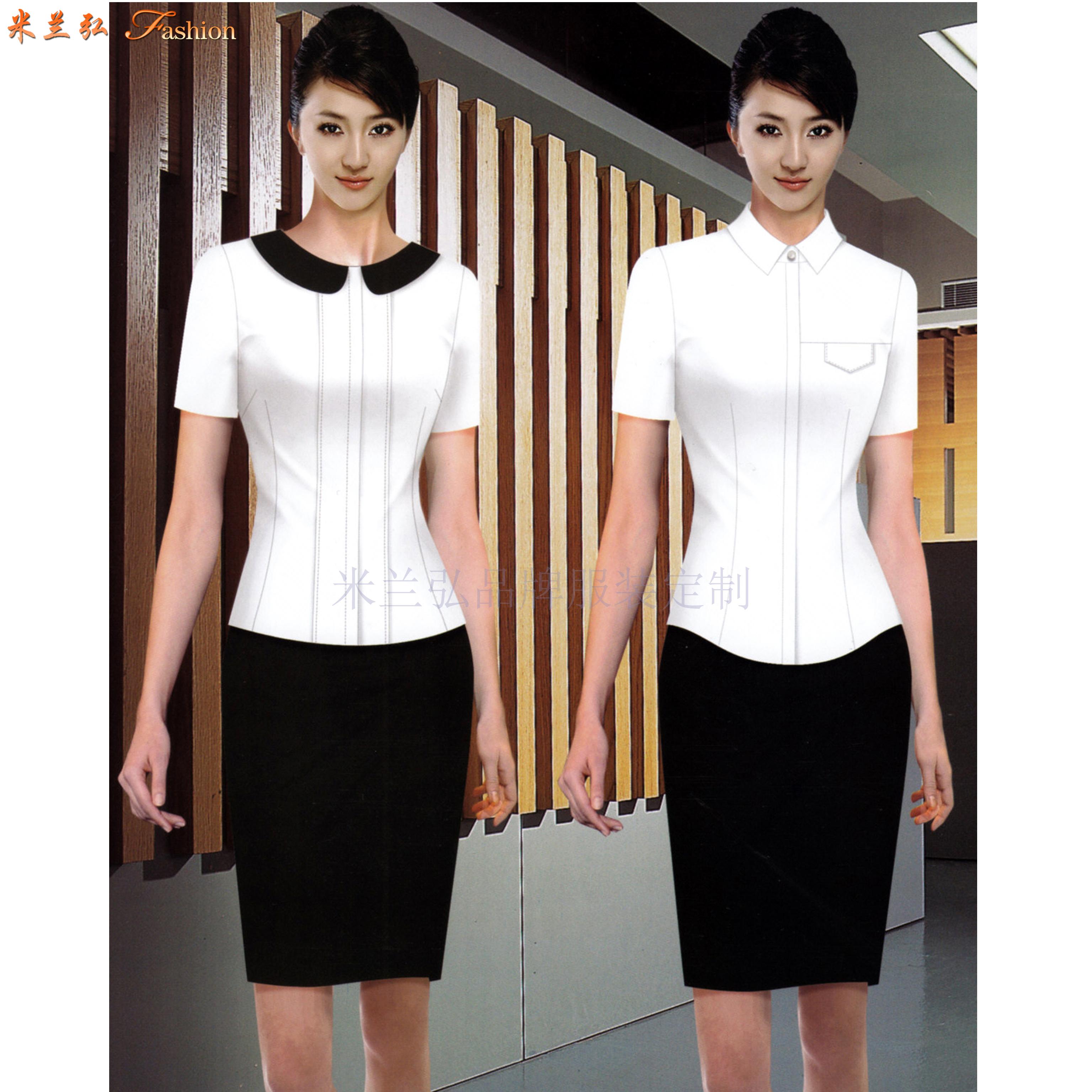 夏天襯衫定做_夏季短袖襯衫定制-米蘭弘服裝廠家-2