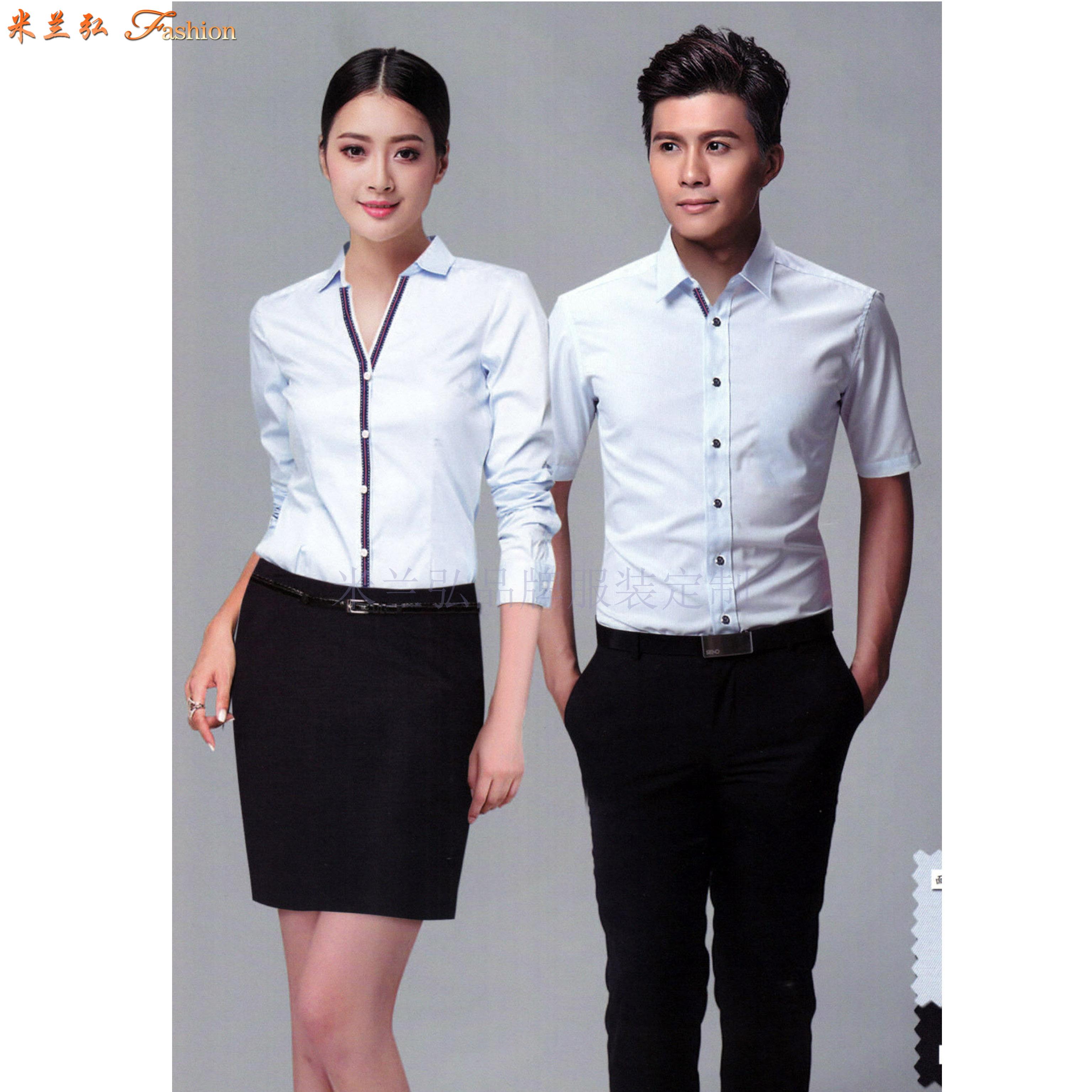北京襯衫廠_定制白襯衫北京-米蘭弘服裝-1