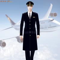 航空公司冬大衣-量體定制空乘順毛羊絨大衣價格-米蘭弘服裝-4