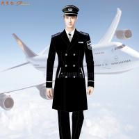 航空公司冬大衣-量體定制空乘順毛羊絨大衣價格-米蘭弘服裝-5