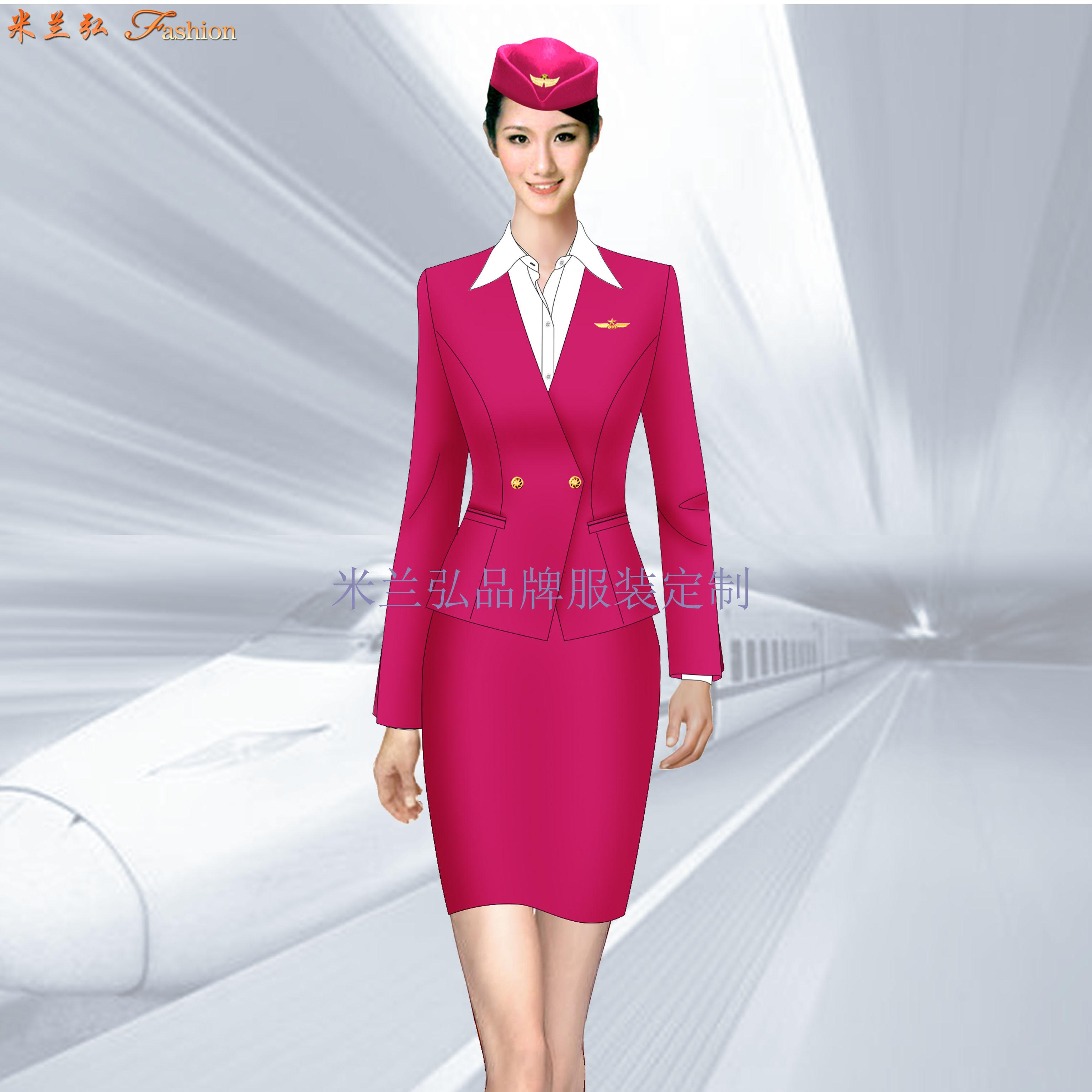 高鐵衣服價格-定做高鐵工作人員服裝-米蘭弘服裝廠家-4