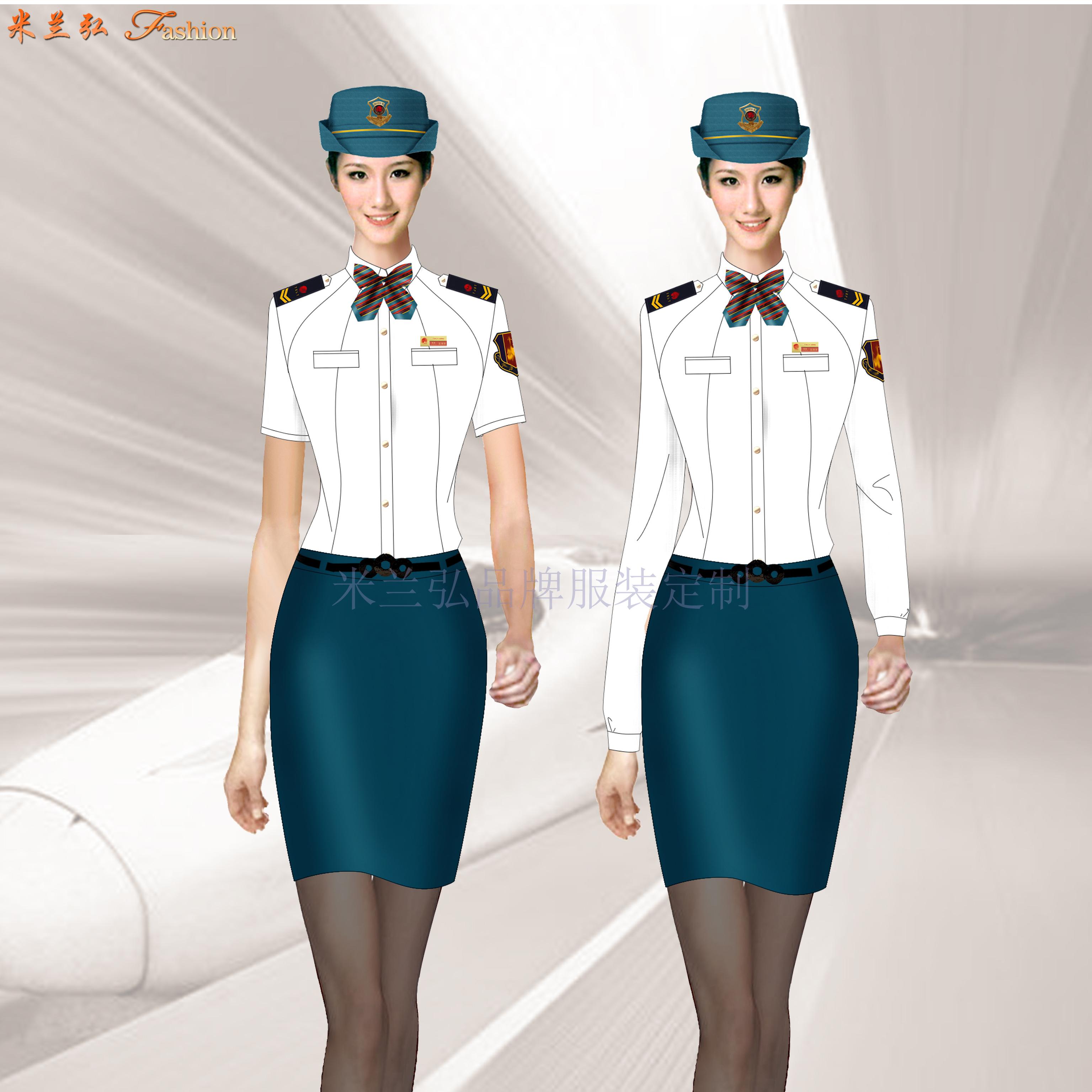 鐵路技術學校高鐵動車學生服裝定做廠家-米蘭弘服-5