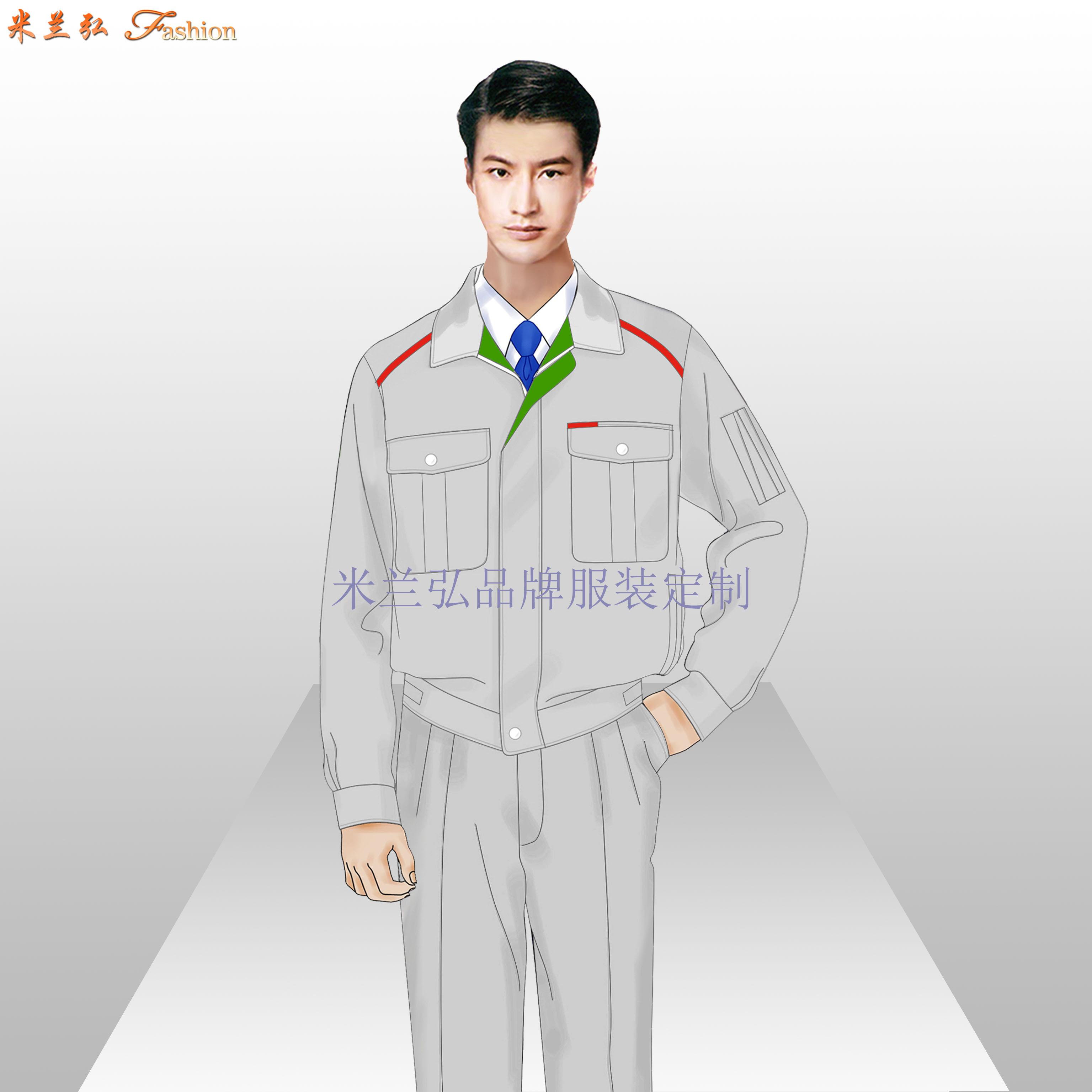 北京物業工作服定做-工程部工服價格-米蘭弘服裝廠家-3