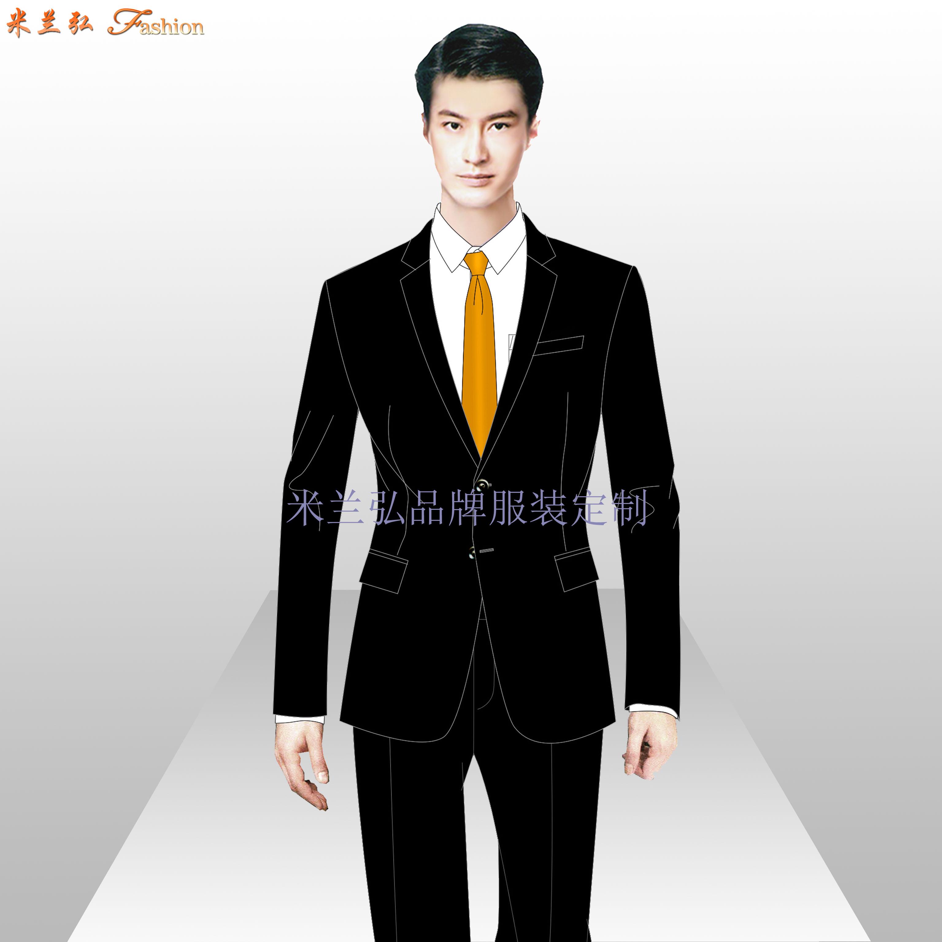 寫字樓物業管家服裝定制-公寓樓物業工作服定做-米蘭弘-2