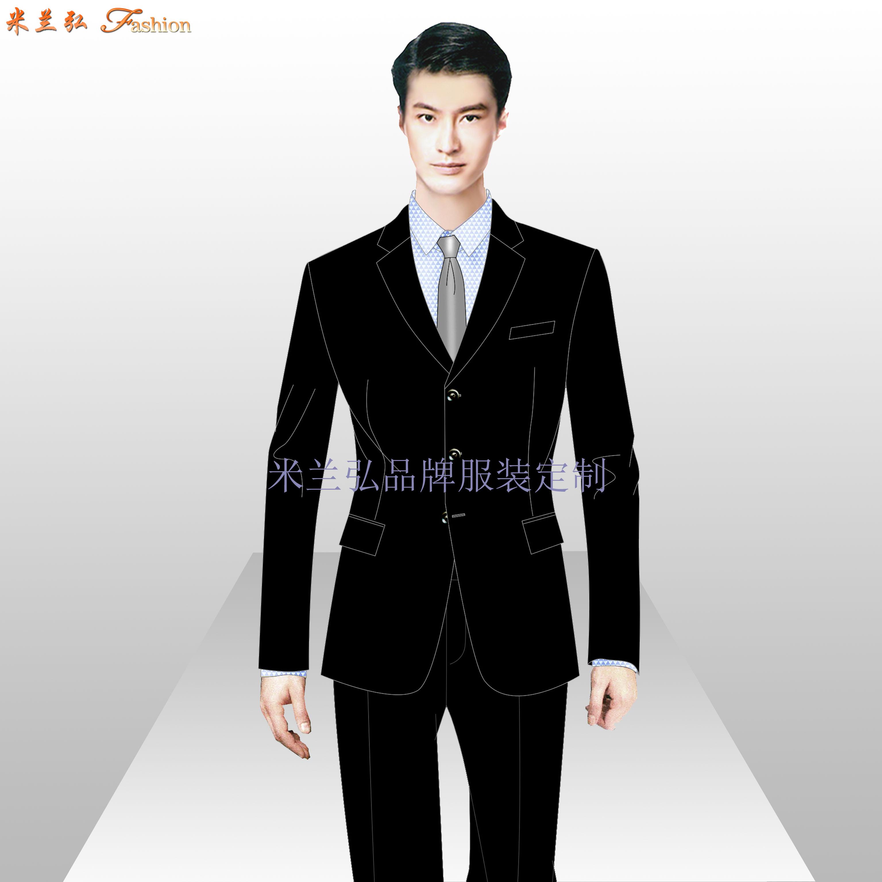 寫字樓物業管家服裝定制-公寓樓物業工作服定做-米蘭弘-3
