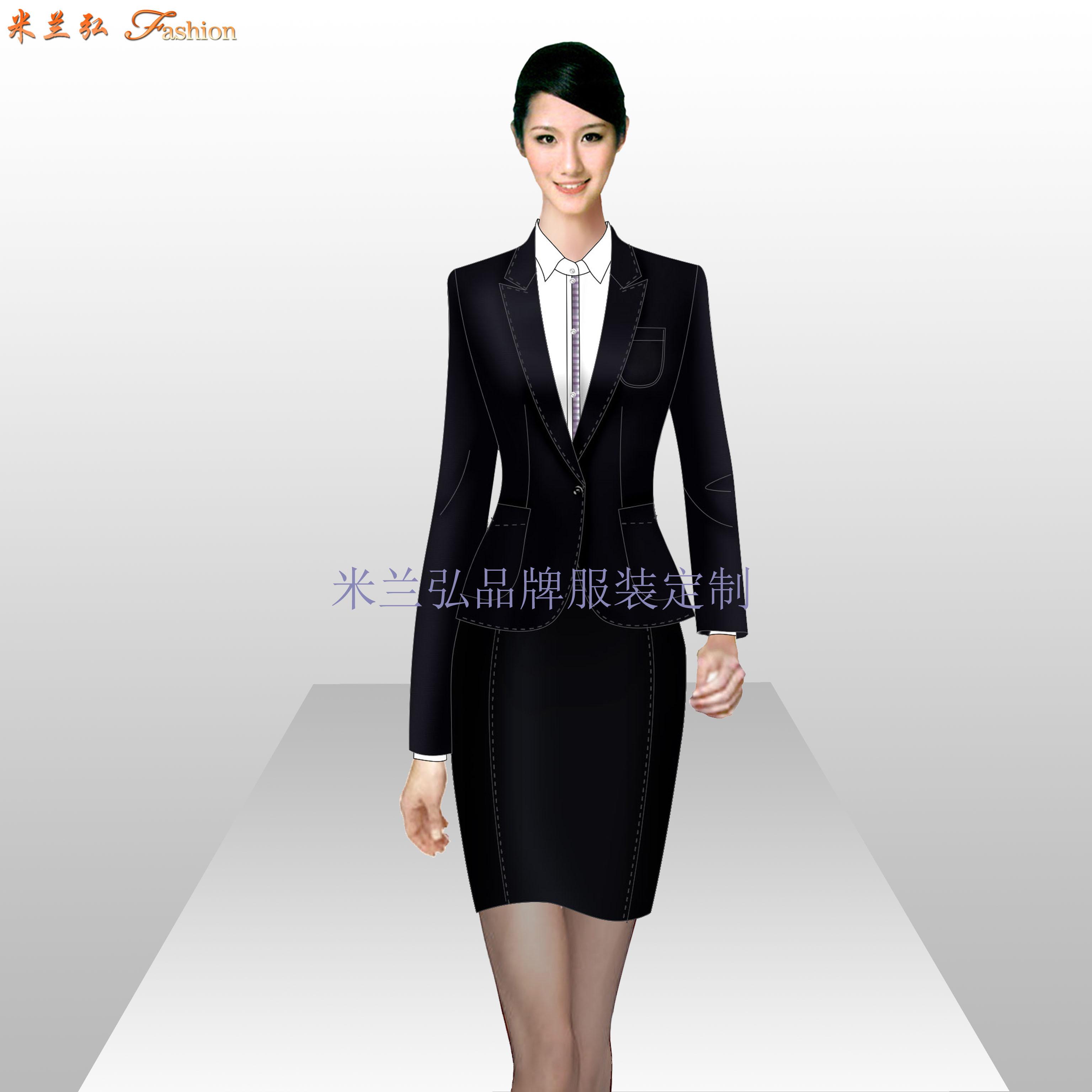 寫字樓物業管家服裝定制-公寓樓物業工作服定做-米蘭弘-4
