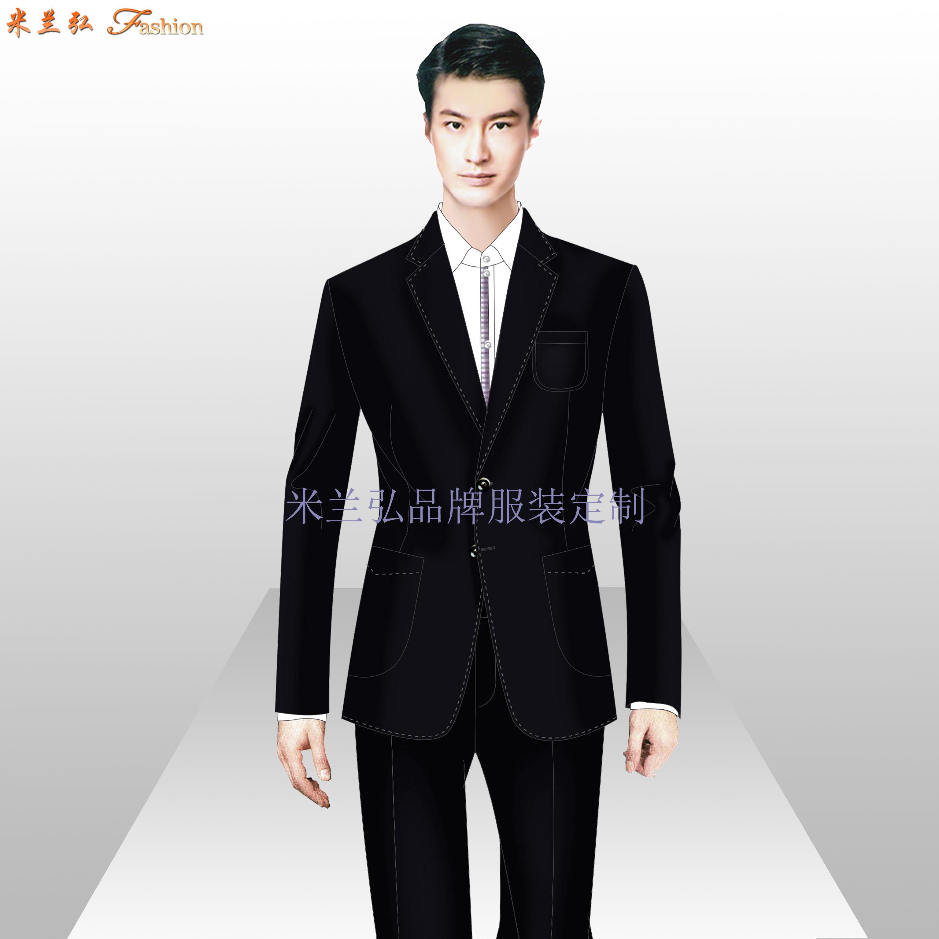 寫字樓物業管家服裝定制-公寓樓物業工作服定做-米蘭弘-5