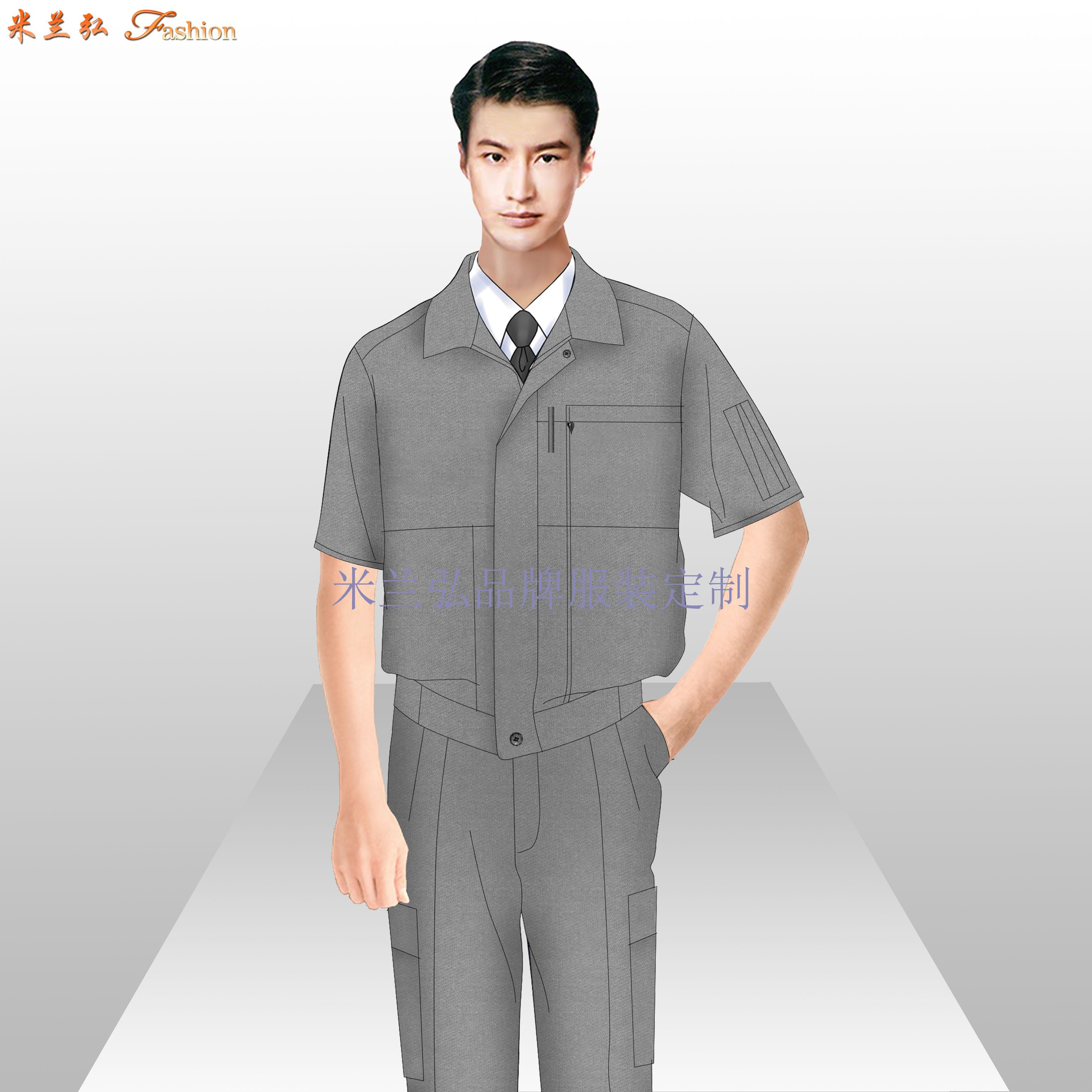 北京工作服-北京物美價廉工作服定做廠家-米蘭弘服裝-2