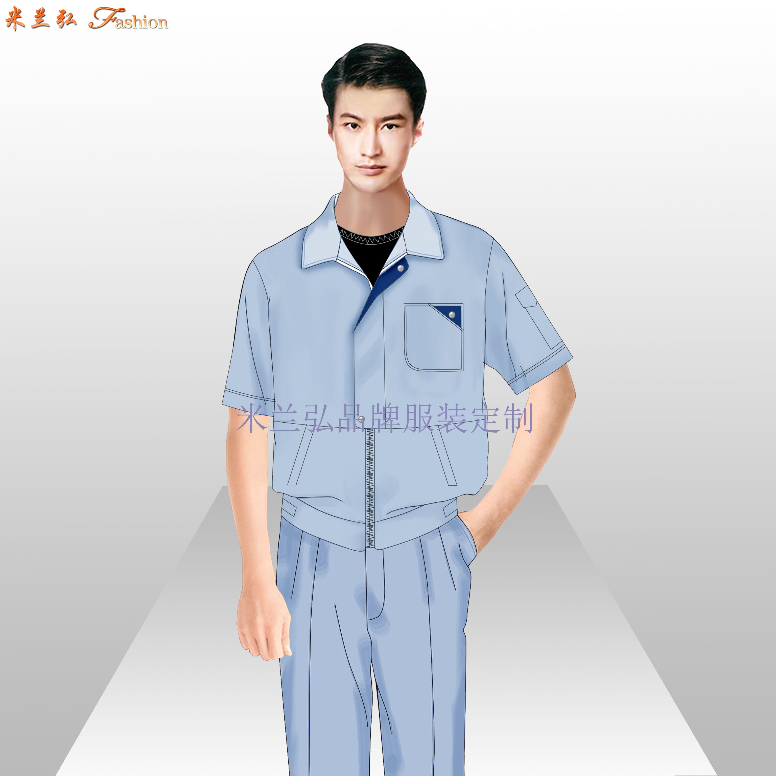 北京工作服-北京物美價廉工作服定做廠家-米蘭弘服裝-3