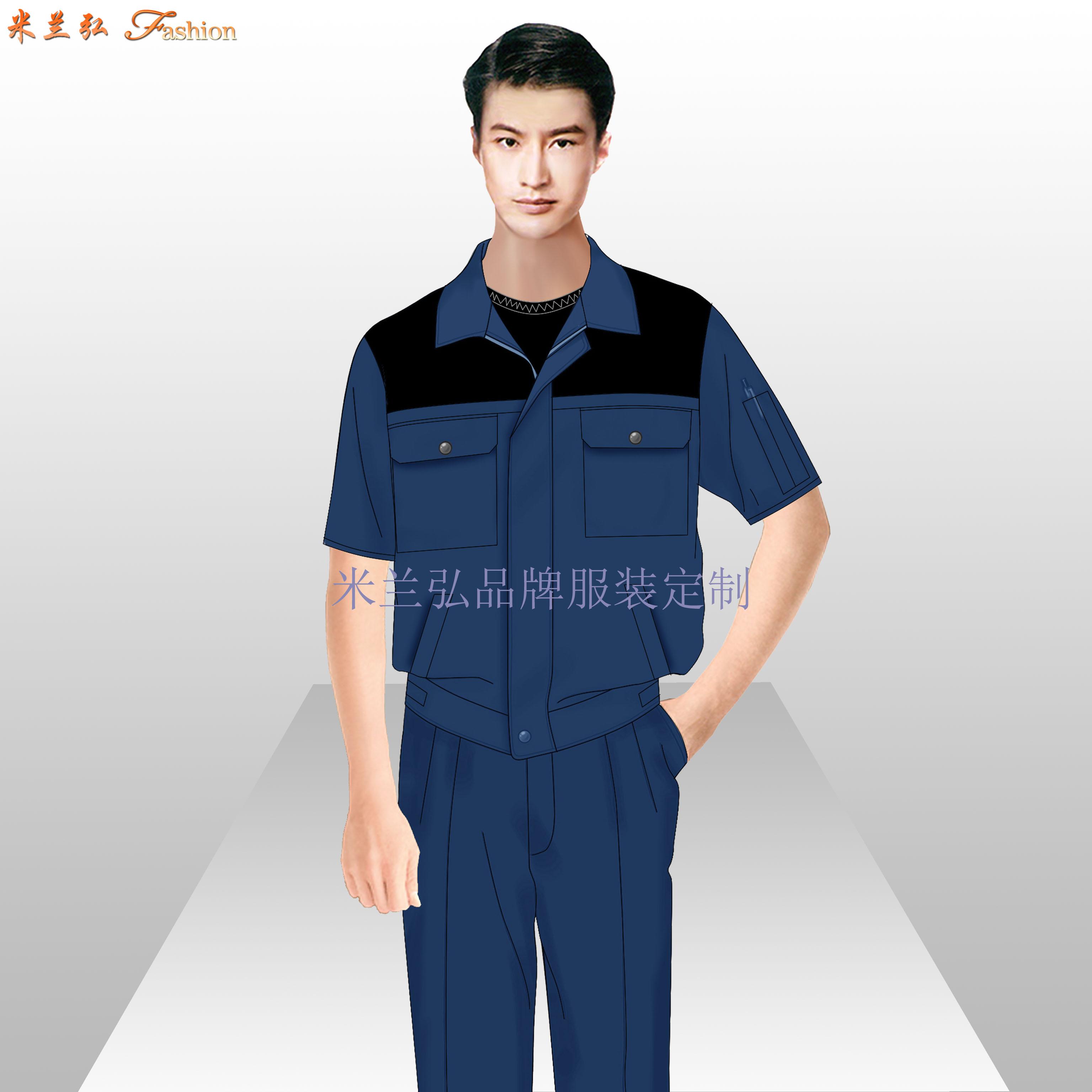 北京工作服-北京物美價廉工作服定做廠家-米蘭弘服裝-4