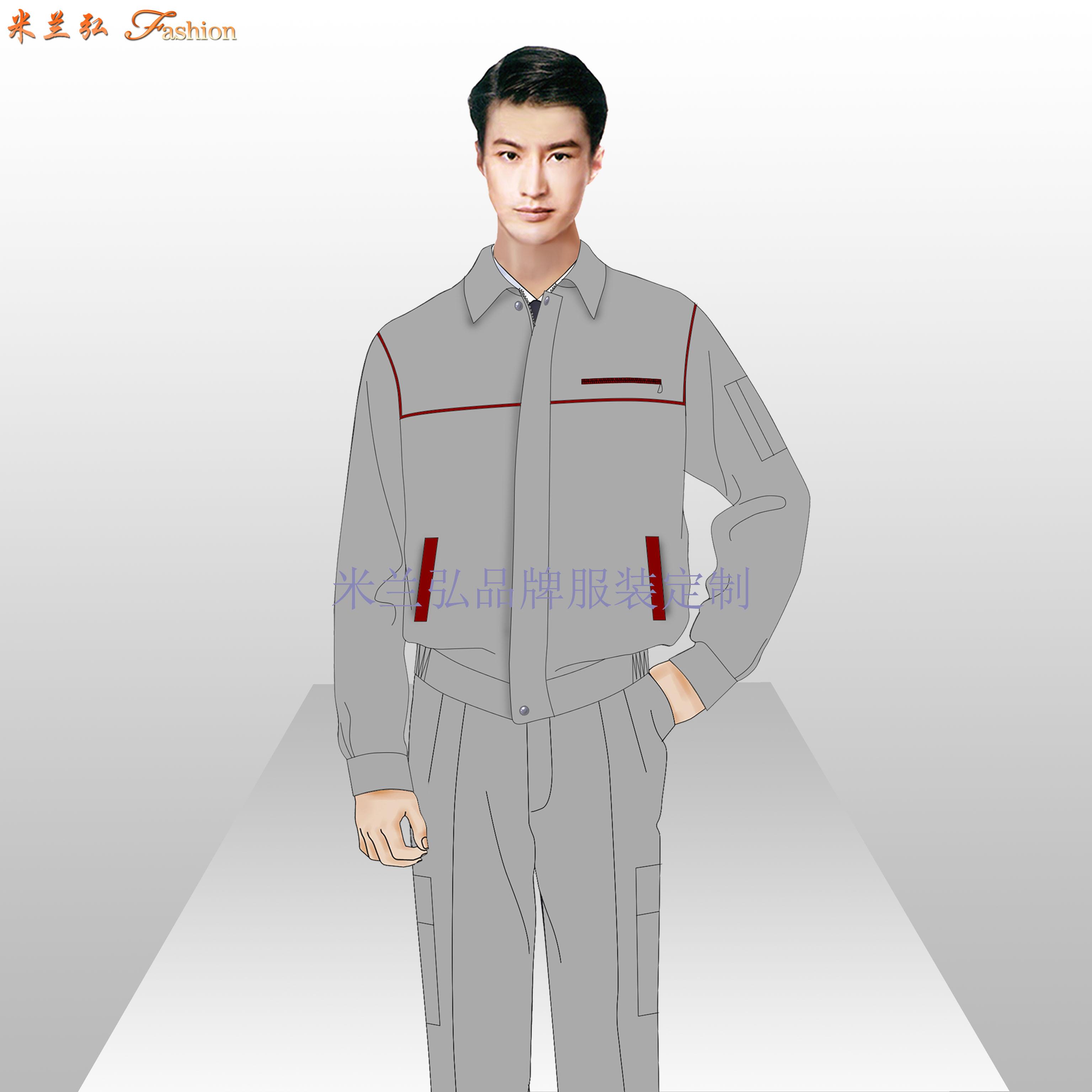 北京工作服批發_工作服廠家直銷-米蘭弘服裝-3